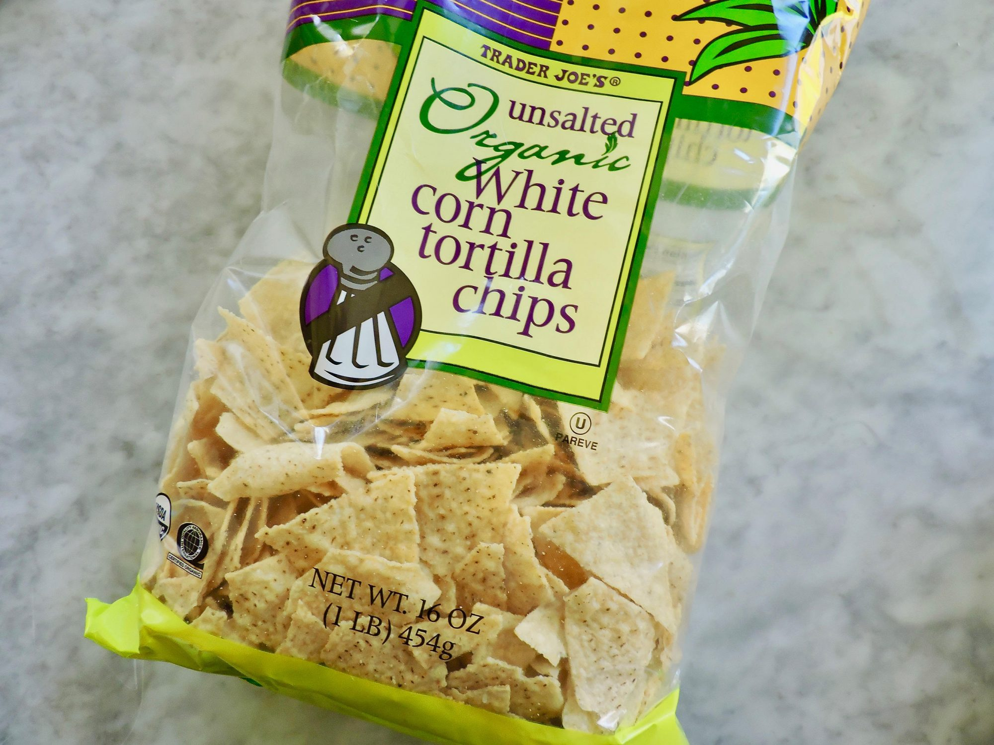 15 Nutritionist-Approved Trader Joe's Foods for $5 or Less 1804w-Trader-Joes-Unsalted-Tortilla-Chips