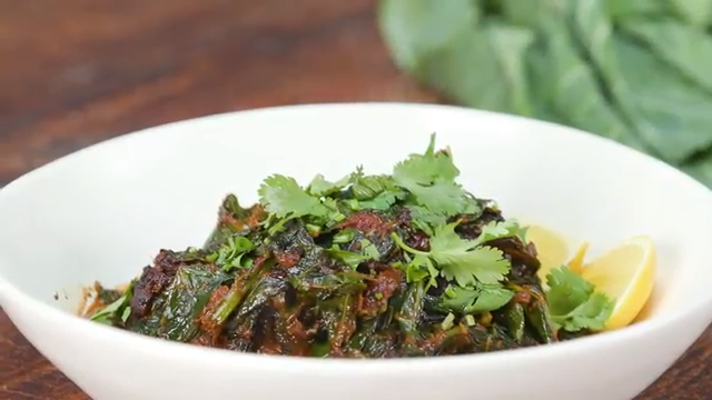 Indian Collard Greens