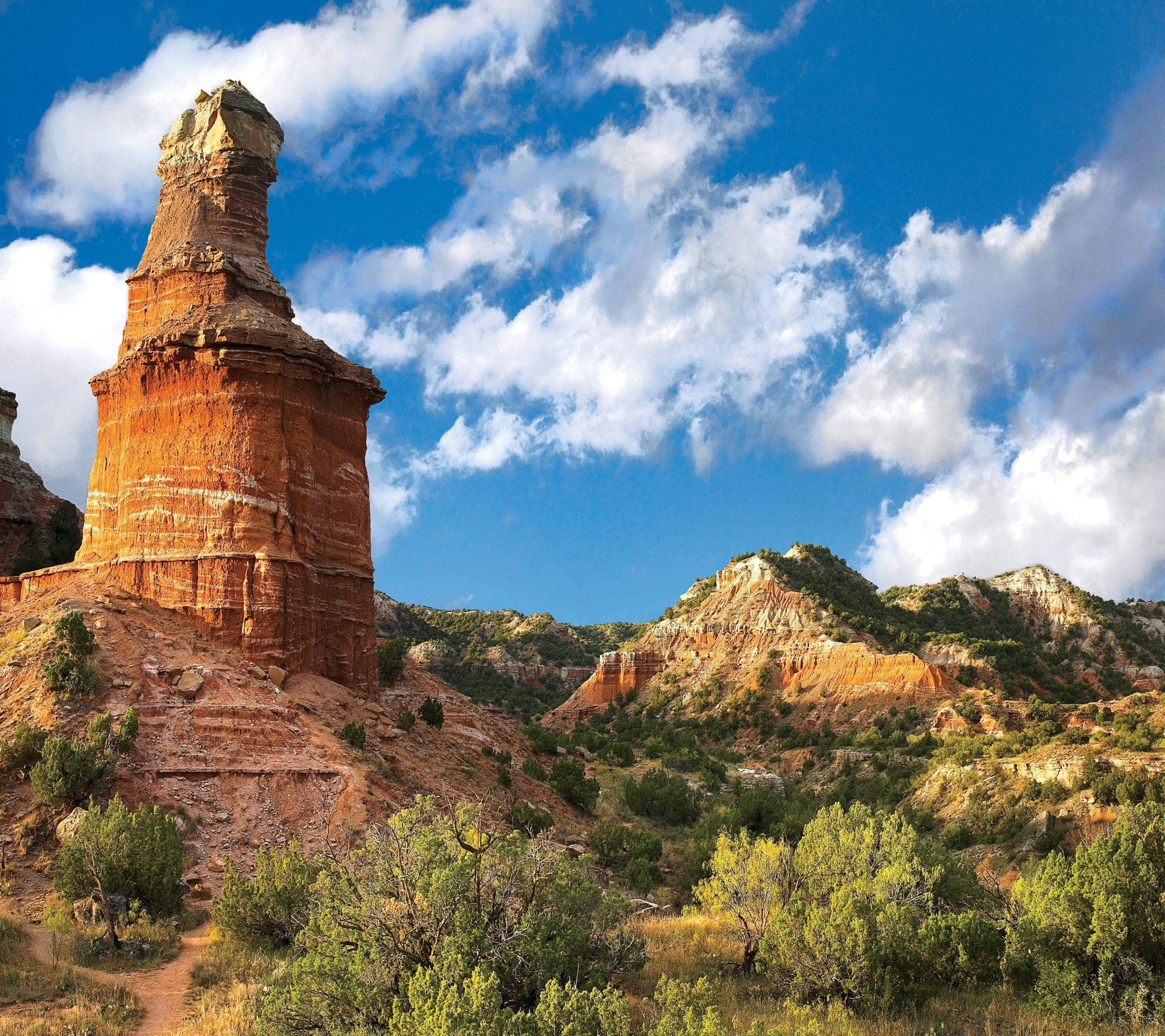 Palo Duro Canyon State Park in Texas