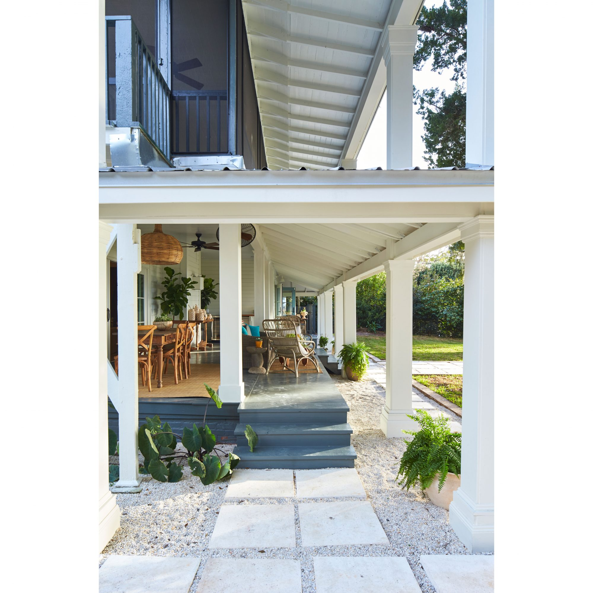 What Is A Rain Porch Southern Living