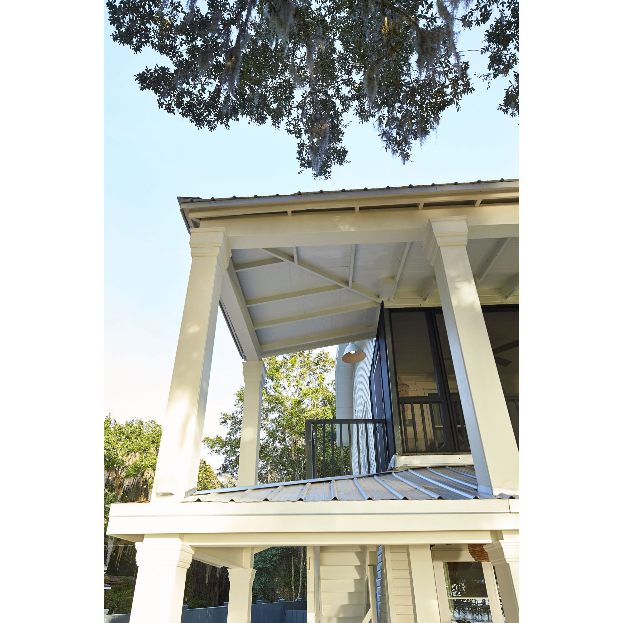 Fairhope Rain Porch Roof Line