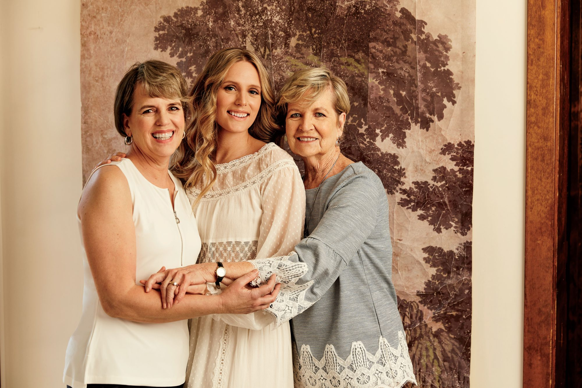 Lauren Liess with Mother and Grandmother
