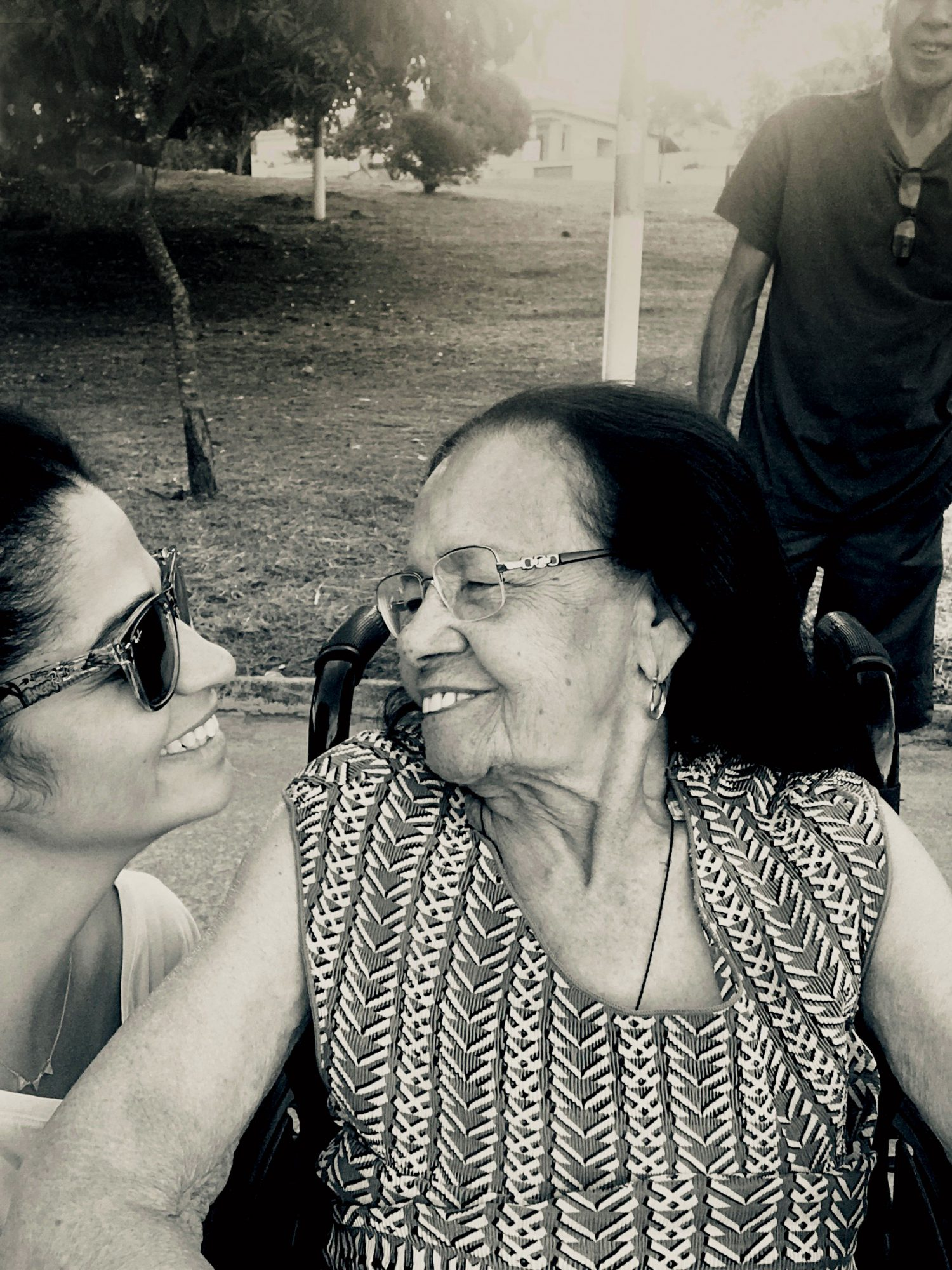 Camila Alves McConaughey with Her Grandmother