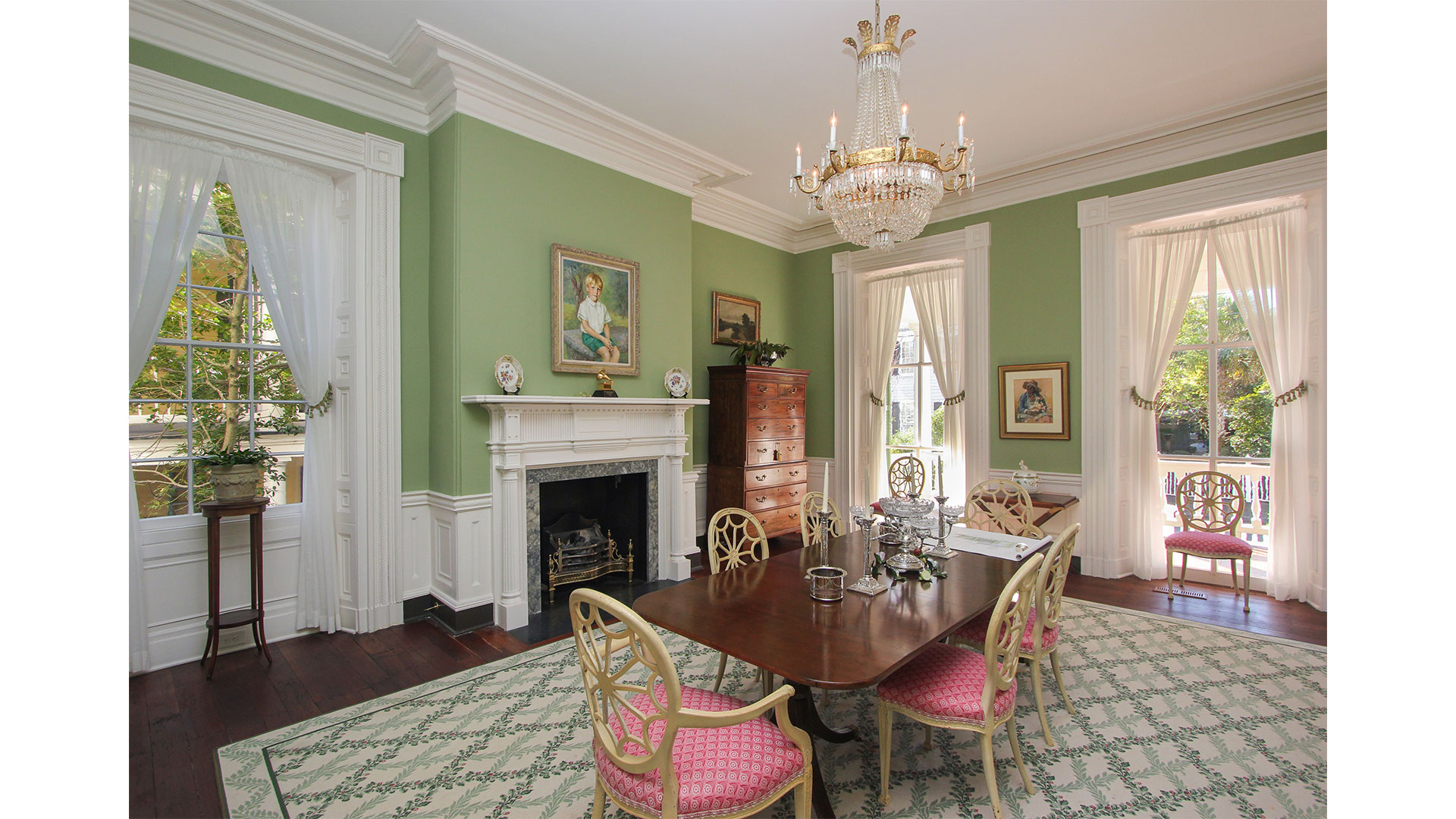 Southern Living 44 Battery Charleston Dining Room