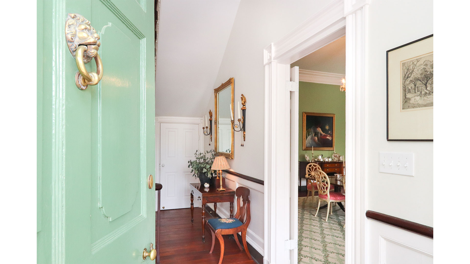 Southern Living 44 Battery Charleston Entry