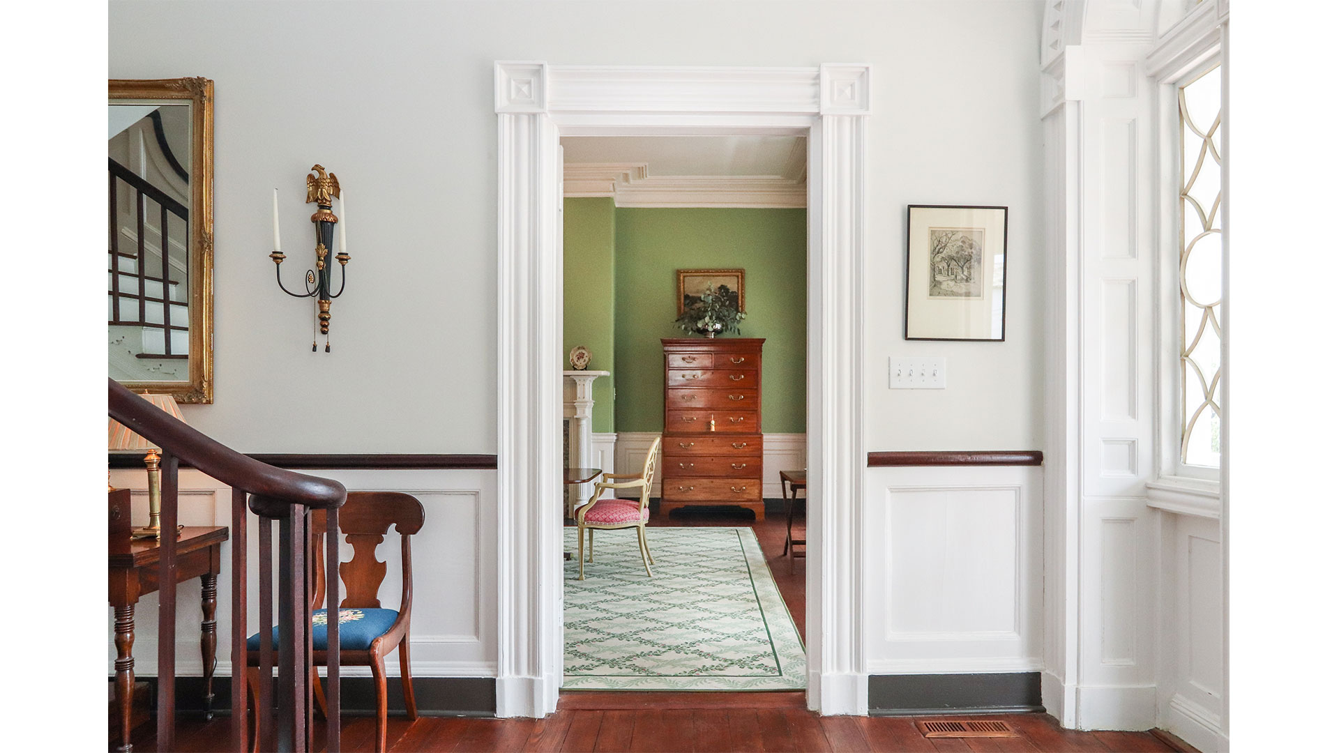 Southern Living 44 Battery Charleston Foyer