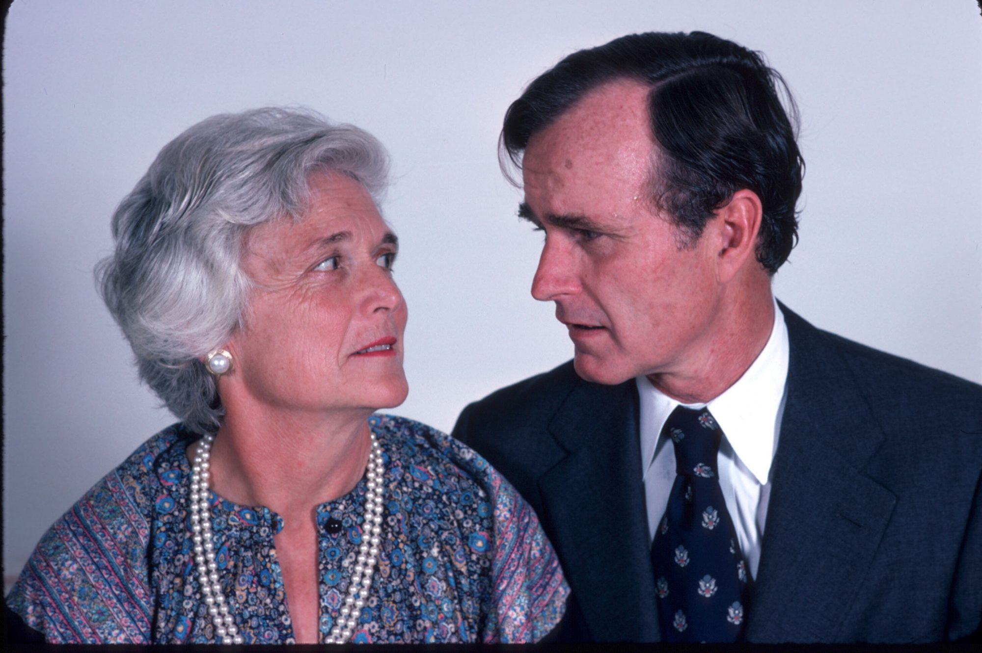 Southern Living George HW and Barbara Bush 1978