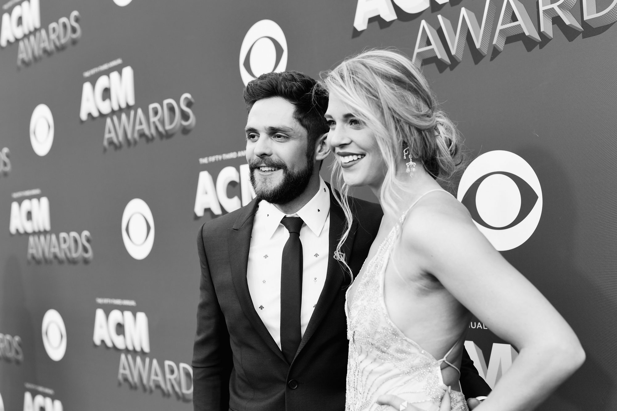 Lauren Akins and Thomas Rhett ACMs 2018