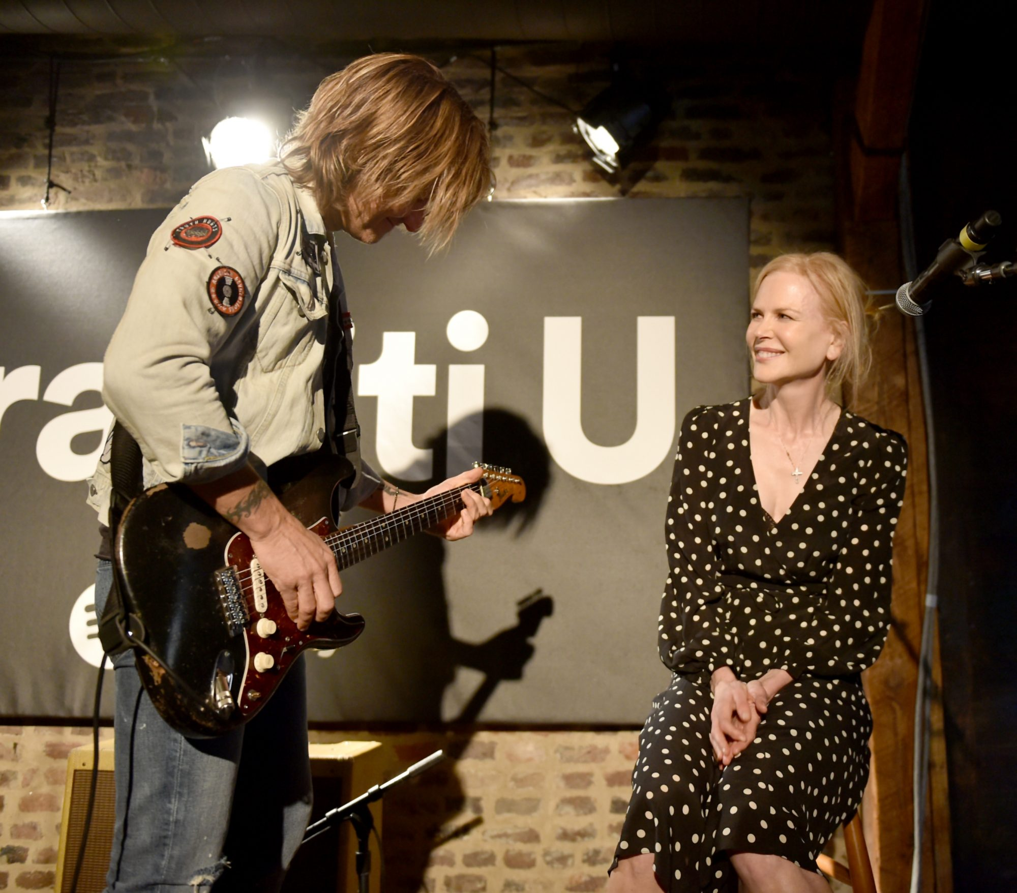 Keith Urban and Nicole Kidman Spotify Event