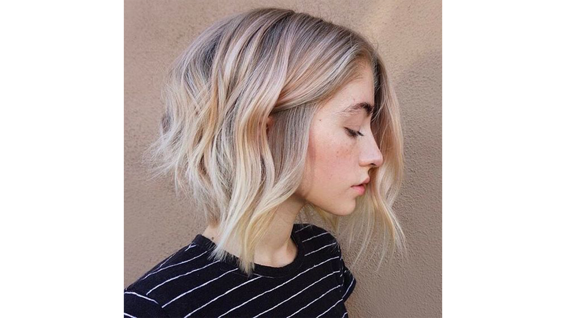 Wavy Layered Hairstyle