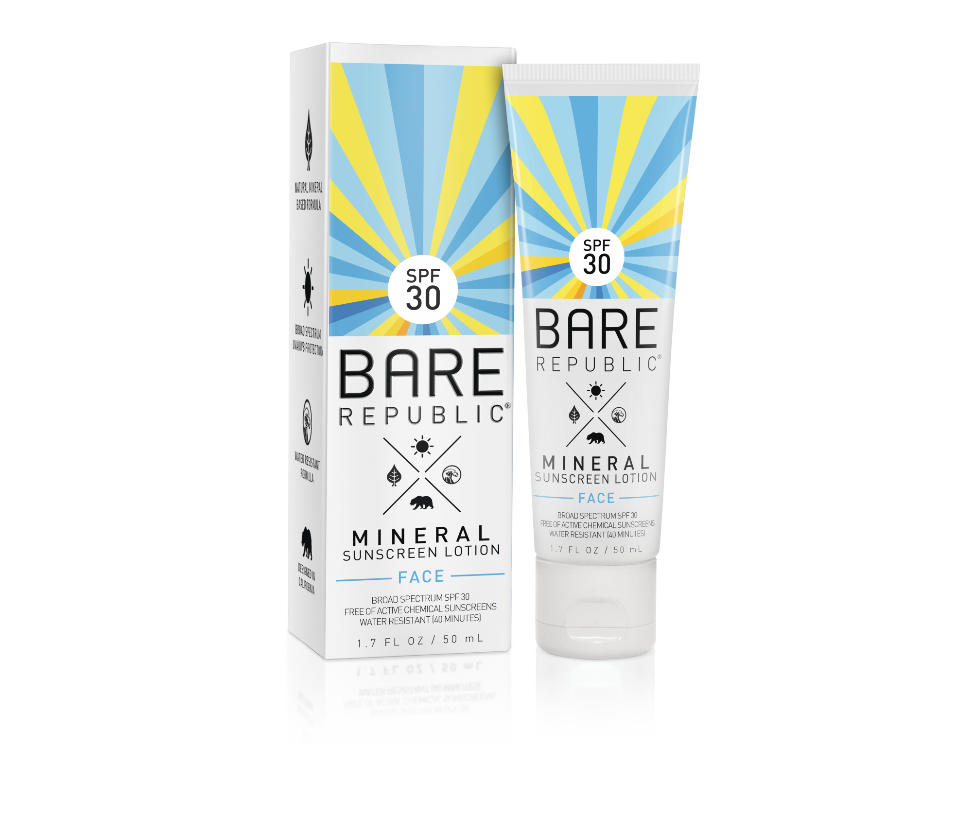 Bare Republic Mineral SPF 30 Face Lotion