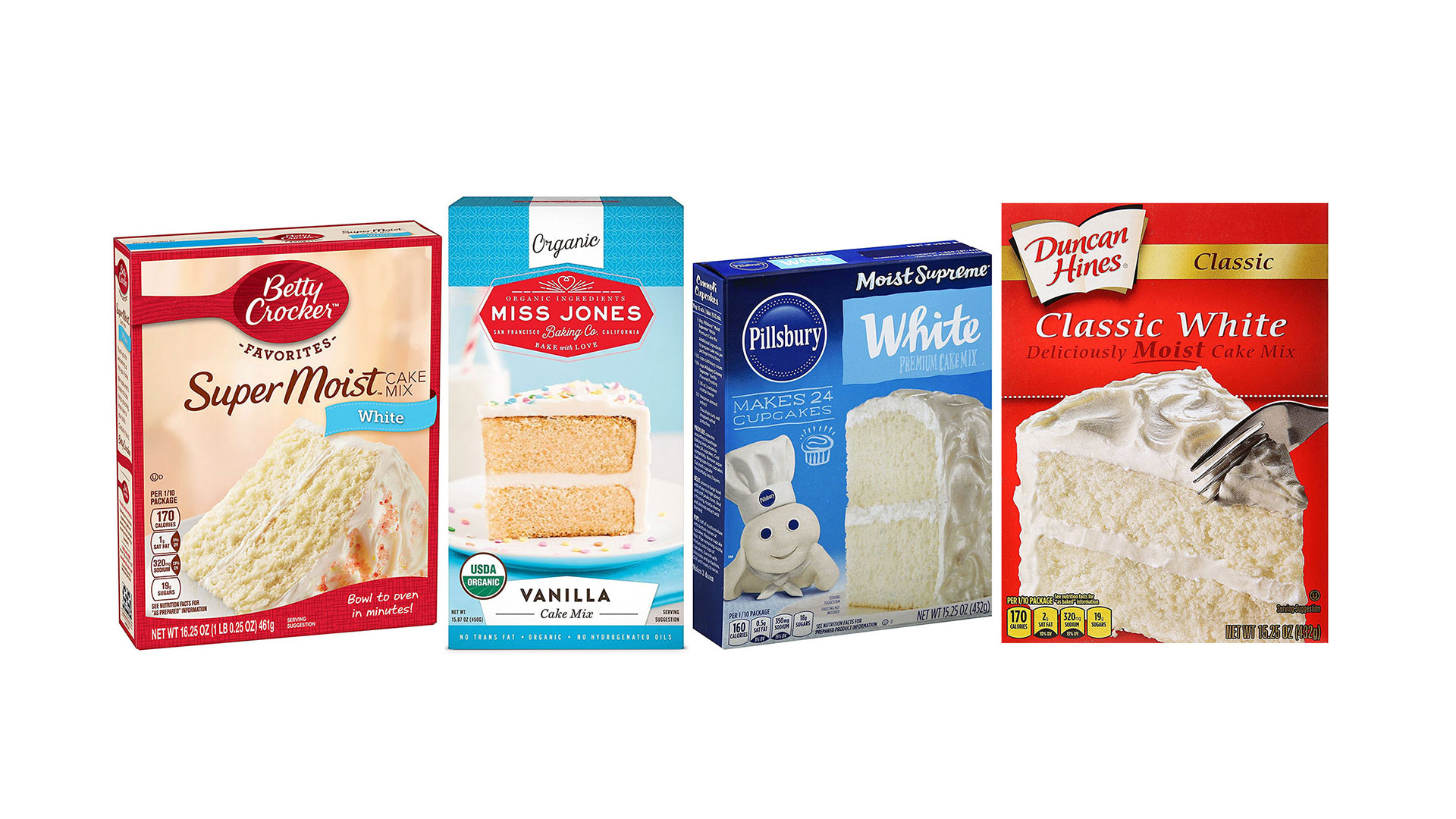 We Blind Taste-Tested Boxed White Cake Mixes, And We Have a Winner