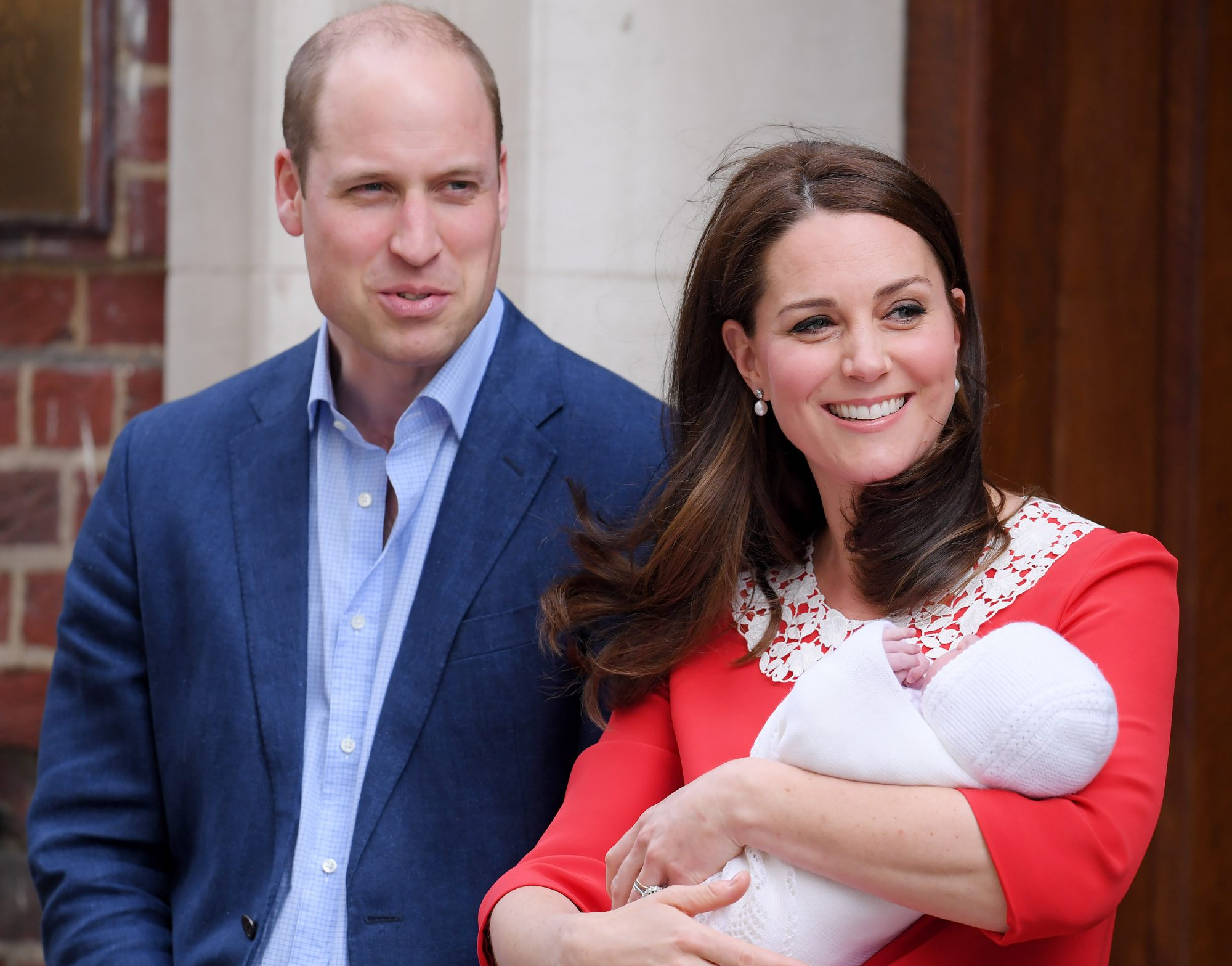Kate Middleton Steps Out with New Royal Baby Just 7 Hours After Giving Birth: See the Photos! catherine-1