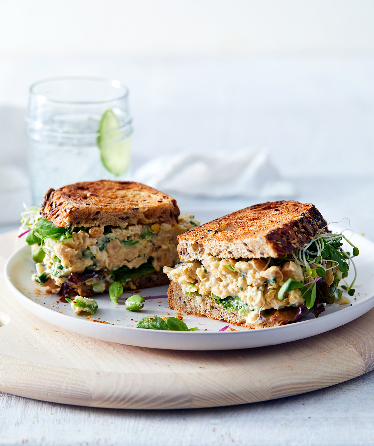 Our Vegetarian Remake of Chicken Salad Is So Good You Won't Miss the Meat