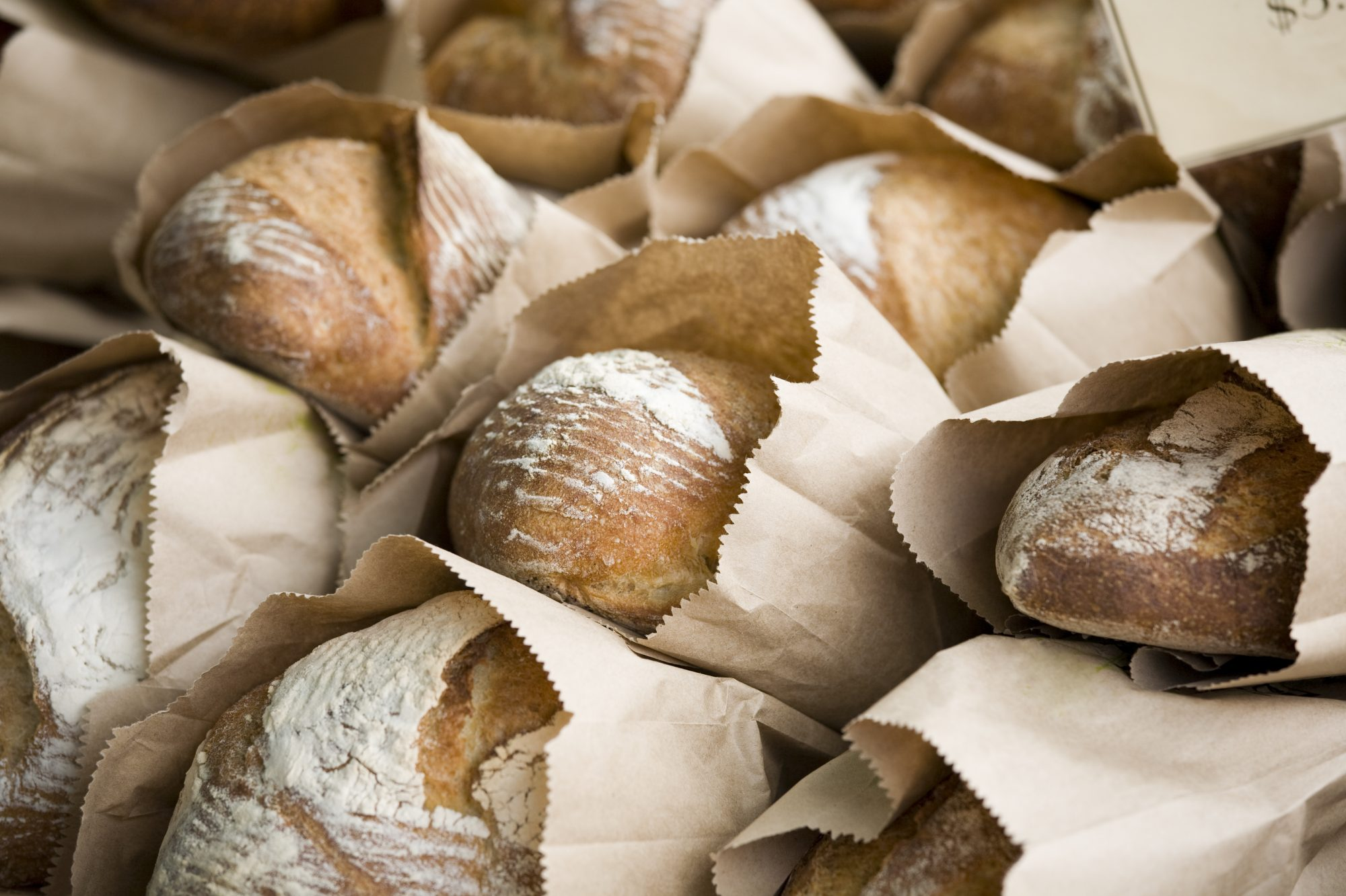 Here's Why Grocery Stores Sell Bread In Paper Bags