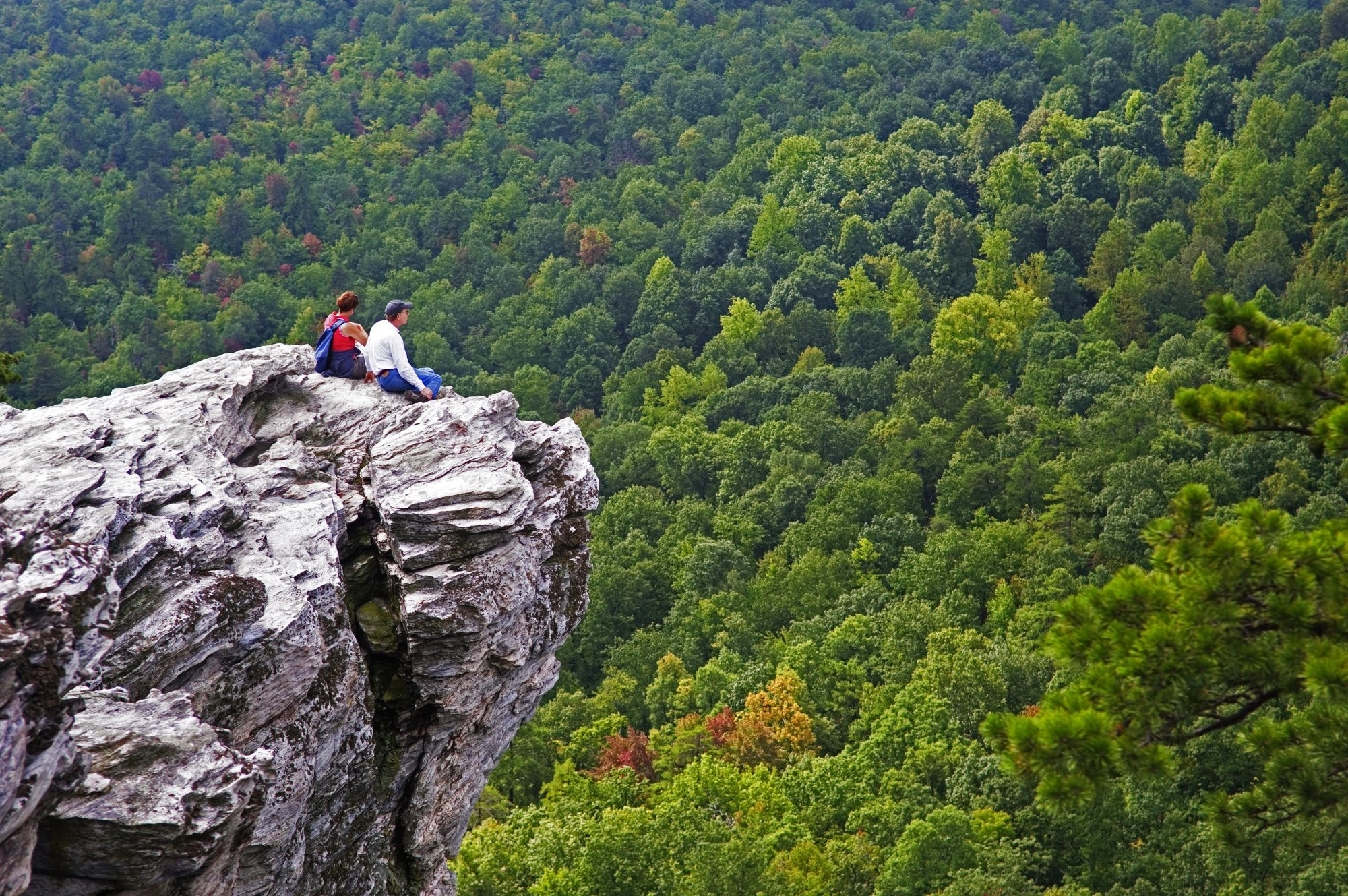 Hanging Rock State Park in Danbury, NC