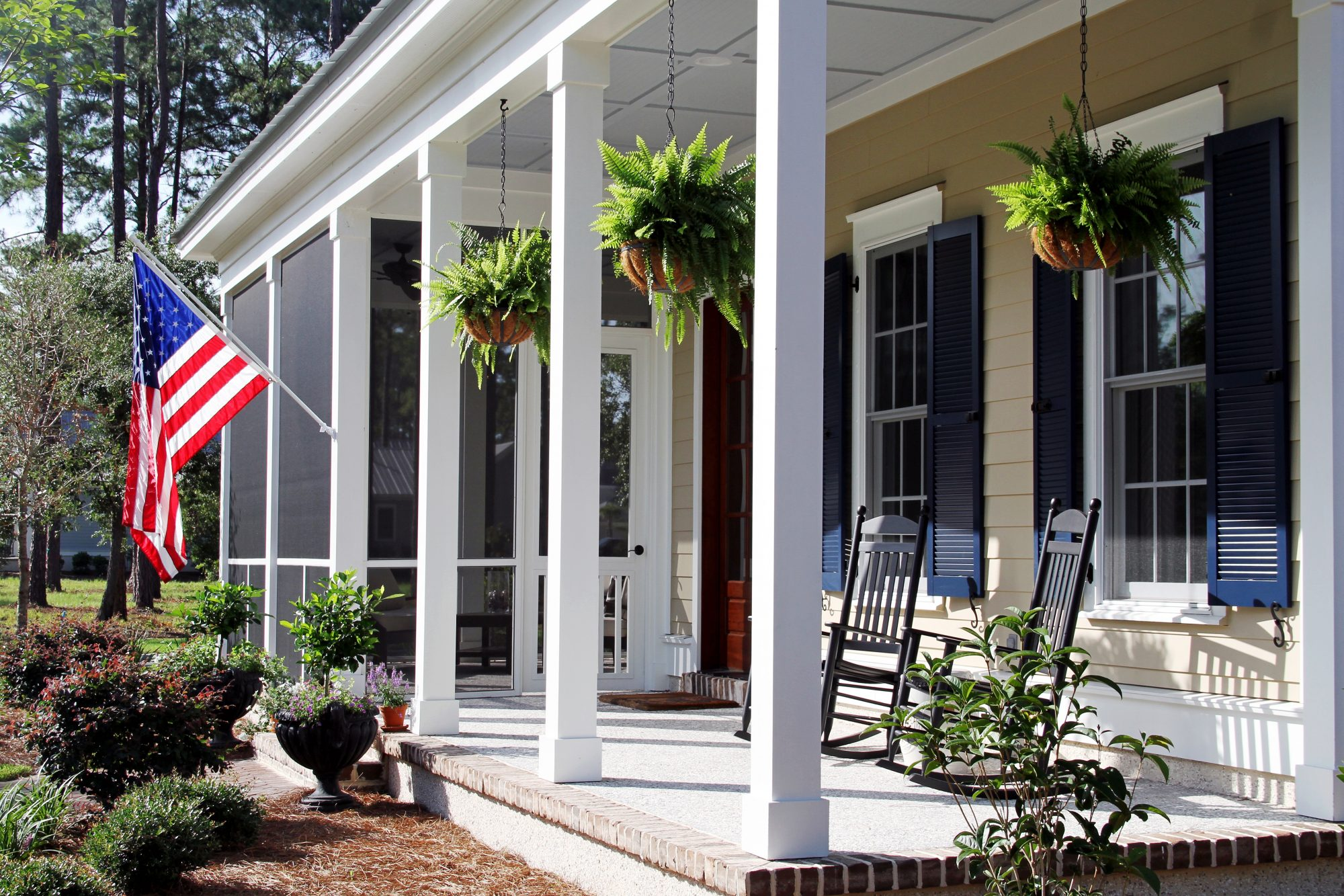 Southern Living Southern Rocking Chairs Front Porch