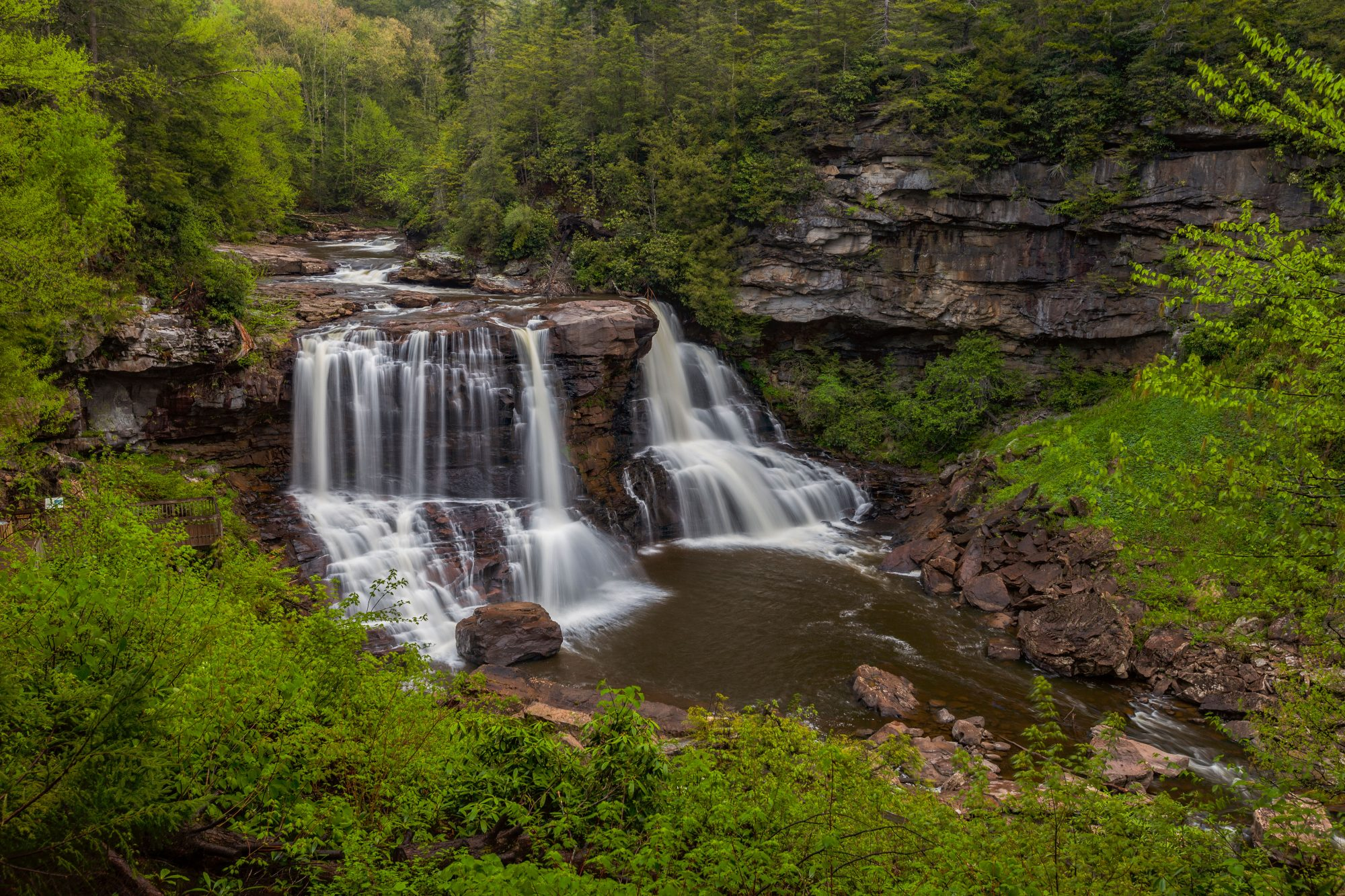 Blackwater Falls State Park in Davis, WV