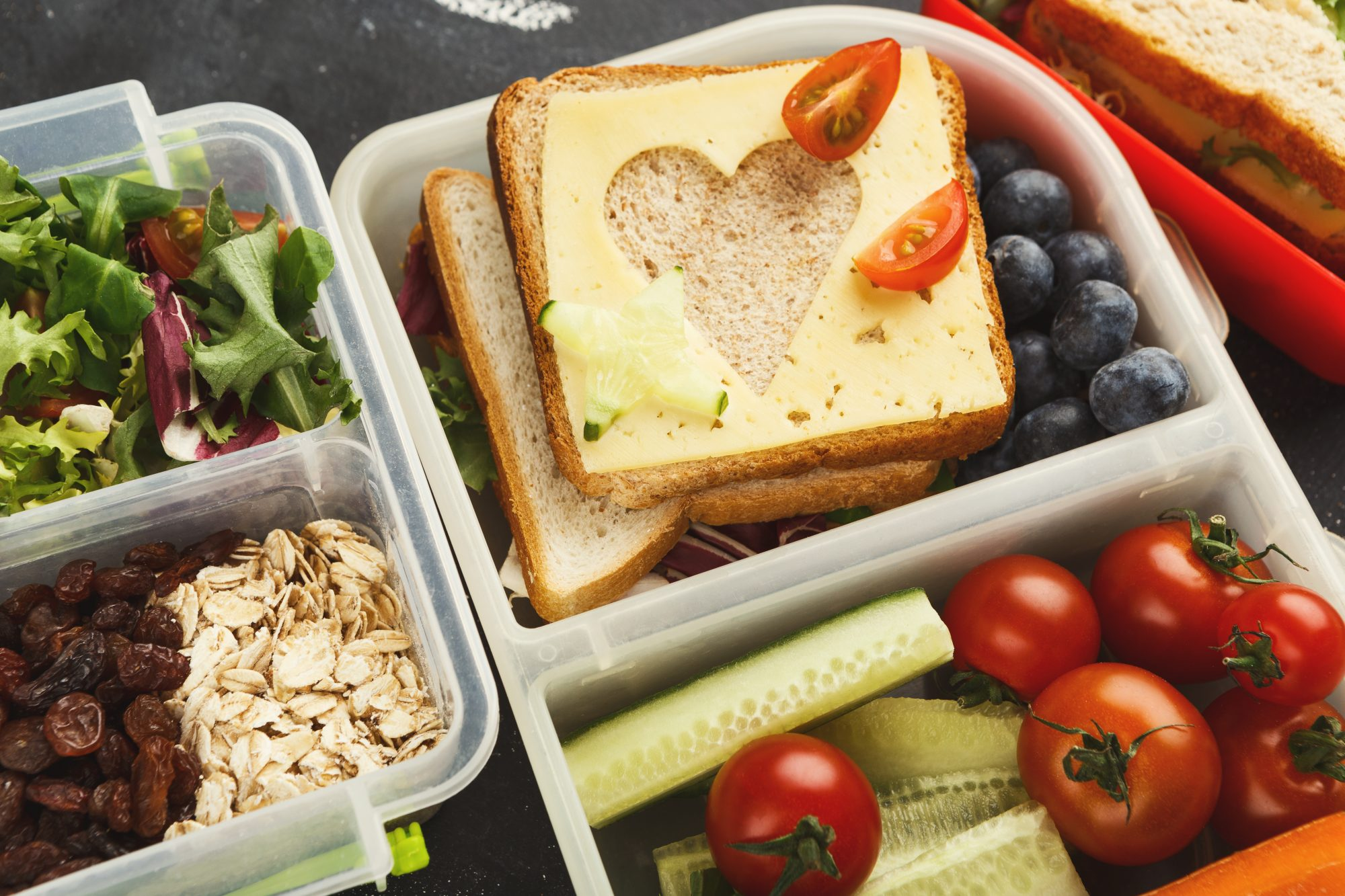 Packing Lunch Containers