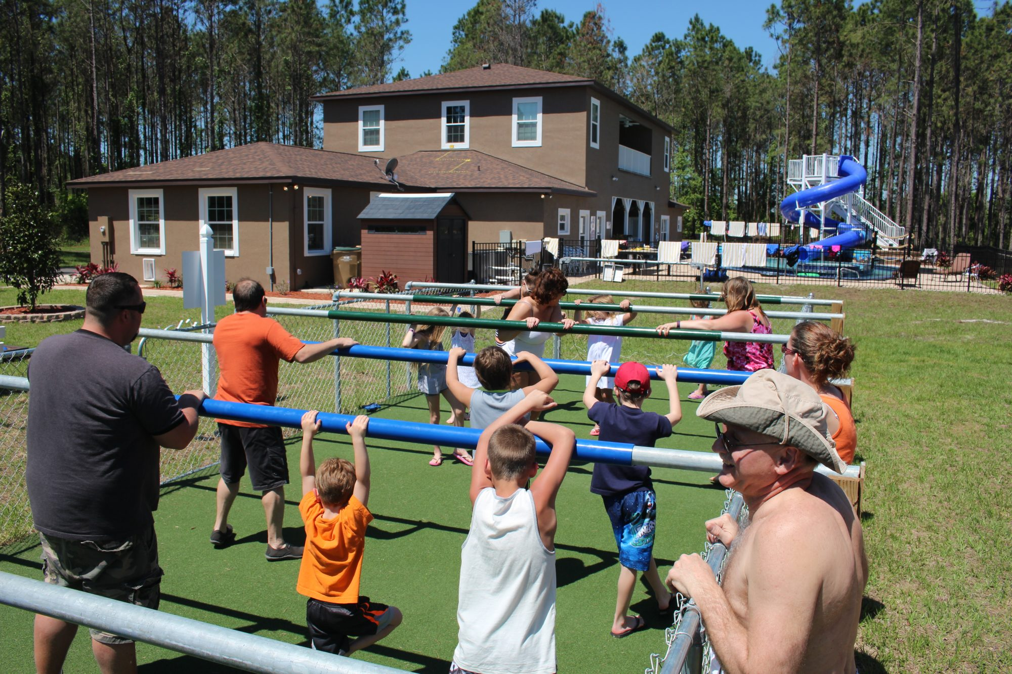 Southern Living Great Escape Lakeside Human Foosball