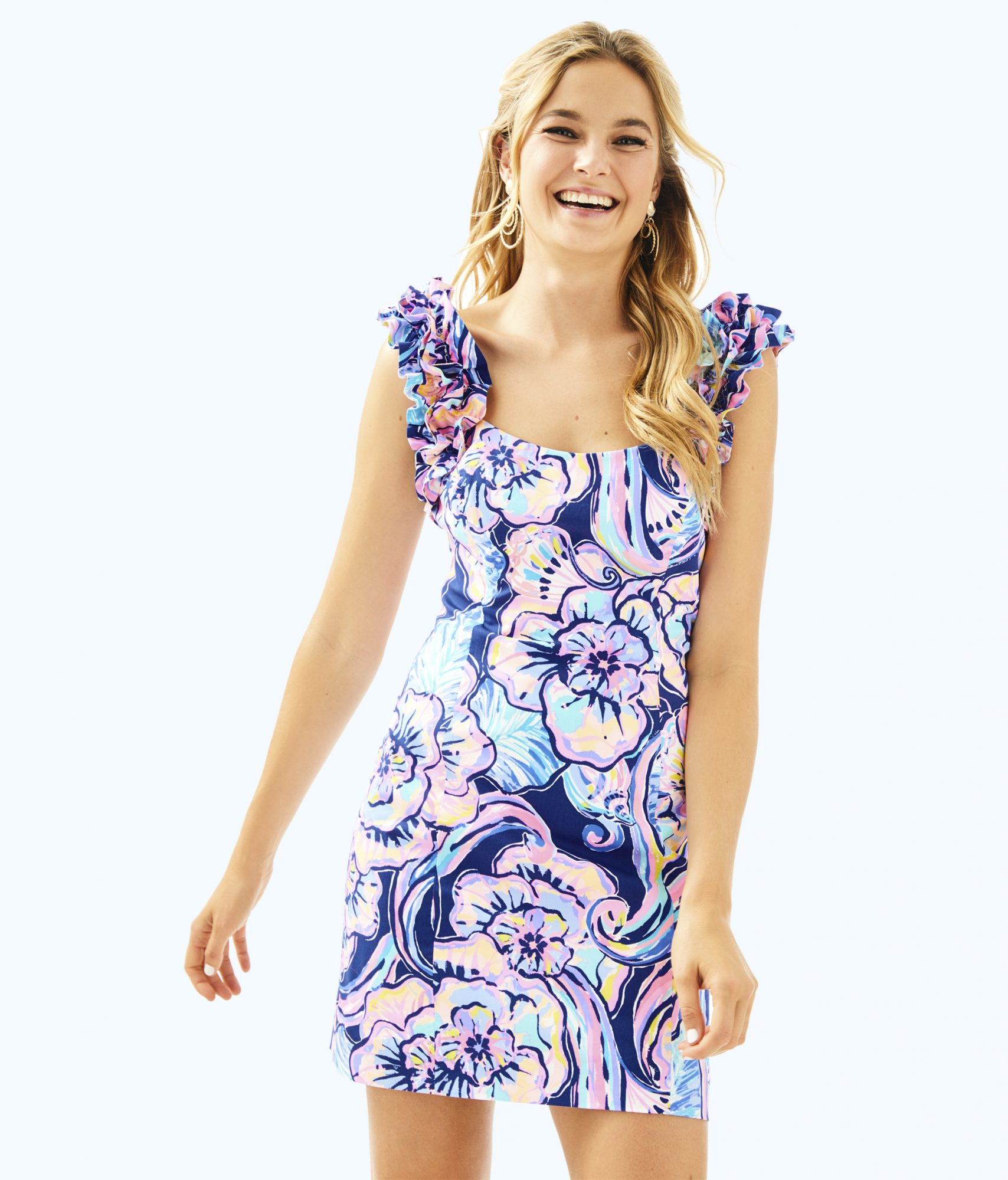 Lilly Pulitzer's Summer Collection Just Launched, Here's Everything We're Buying ASAP lilly-p-mini-dress