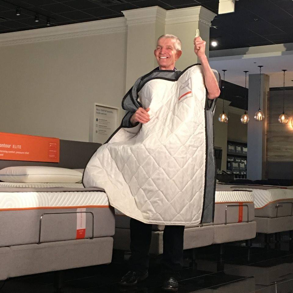 Mattress Mack in his Mattress Suit
