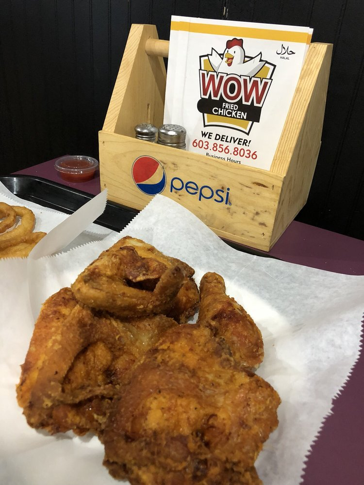 New Hampshire: Wow Fried Chicken