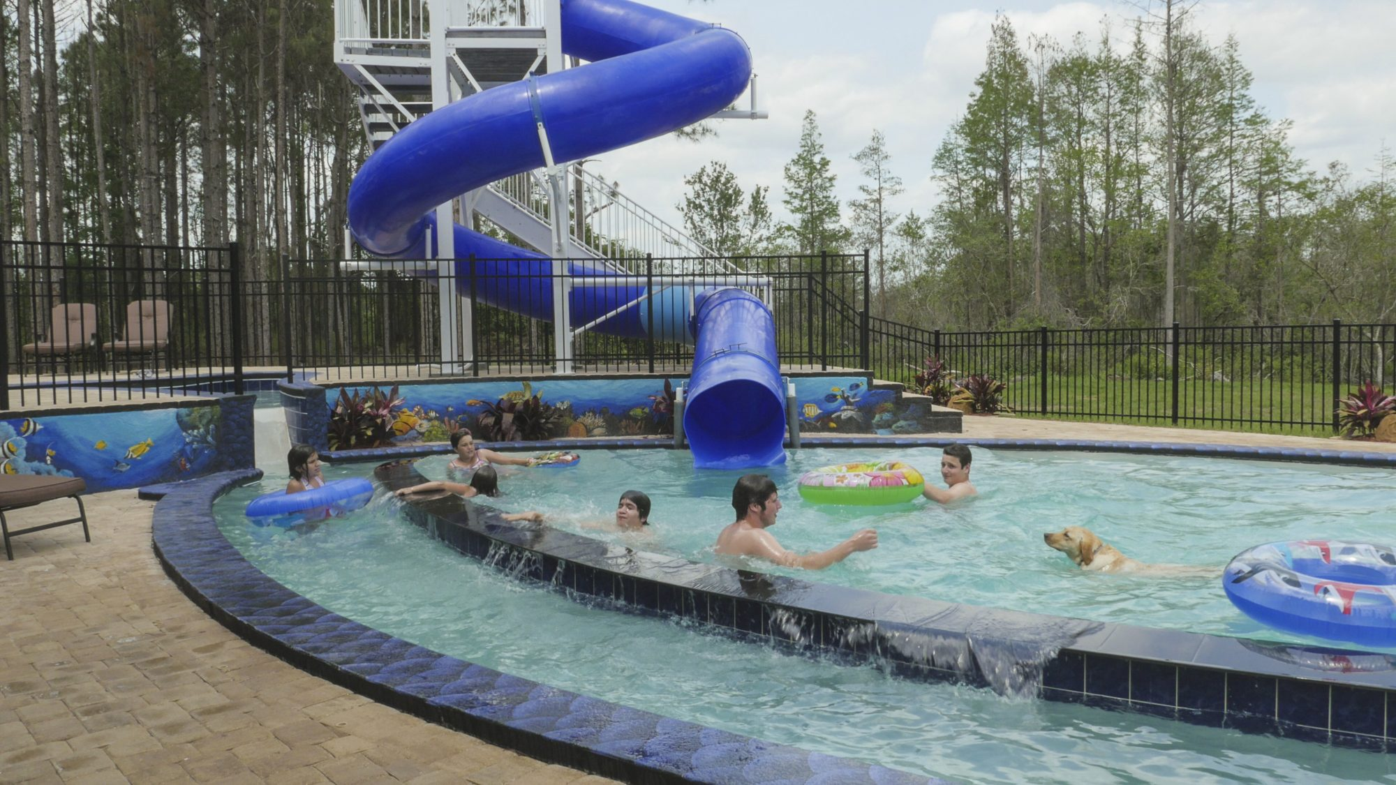 Southern Living Great Escape Lakeside Swimming Pool