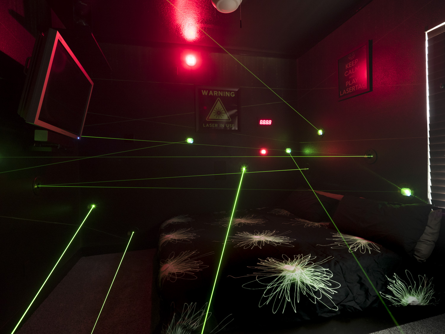Southern Living Great Escape Lakeside Laser Maze