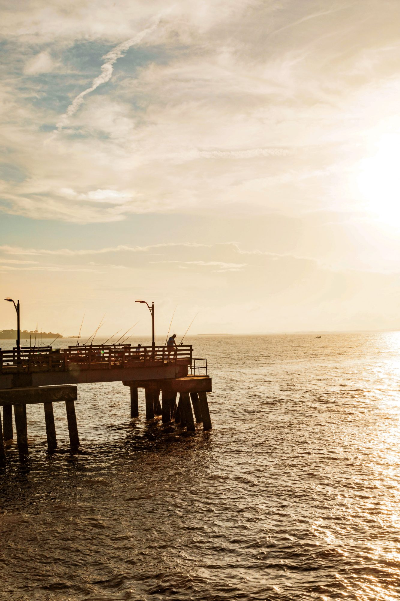 The Pier in Downtown St. Simons Island