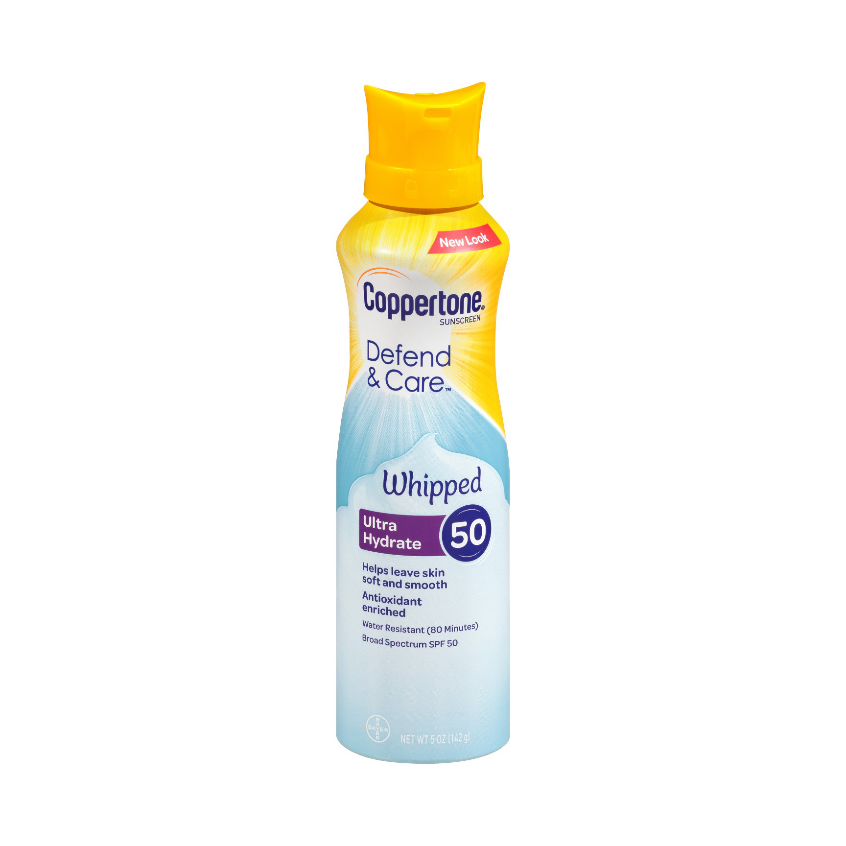 Coppertone Defend & Care UltraHydrate Whipped