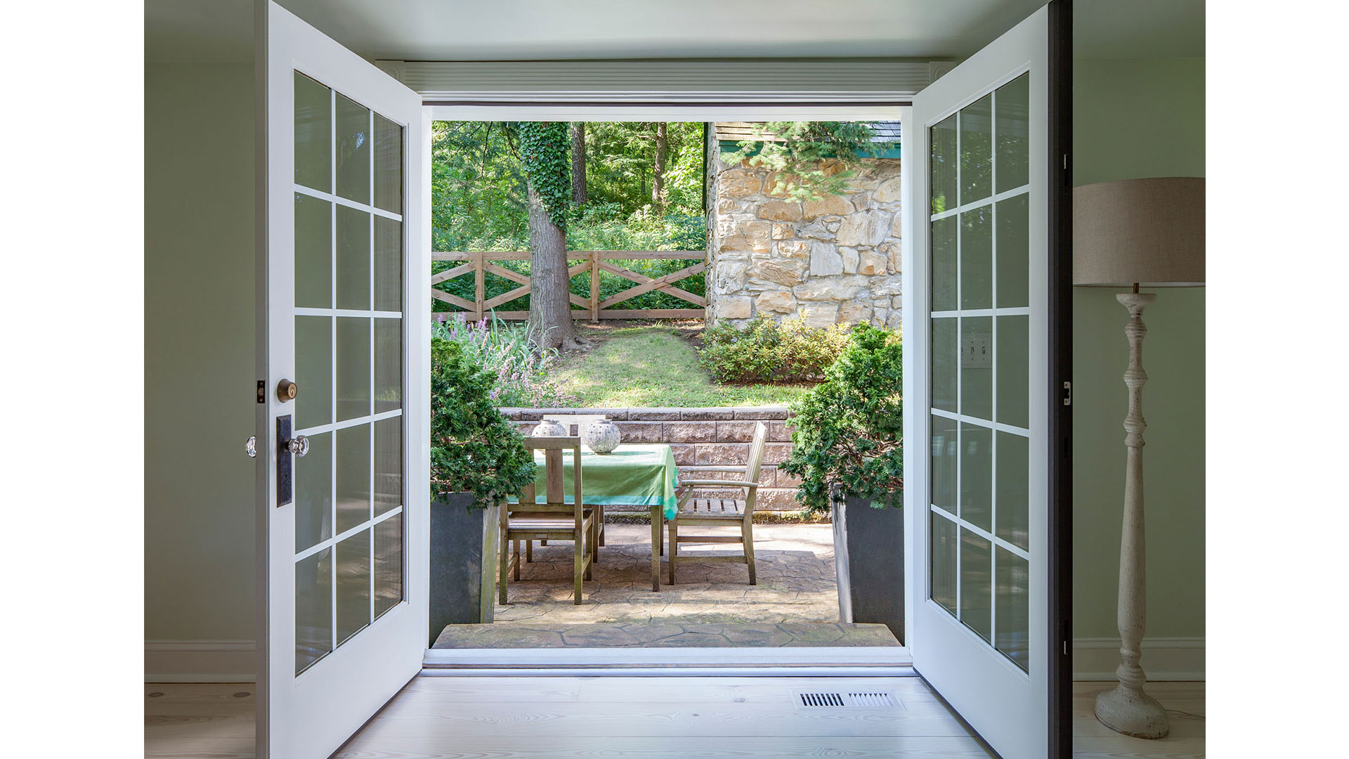 Southern Living Hiram Hedges House French Doors 8