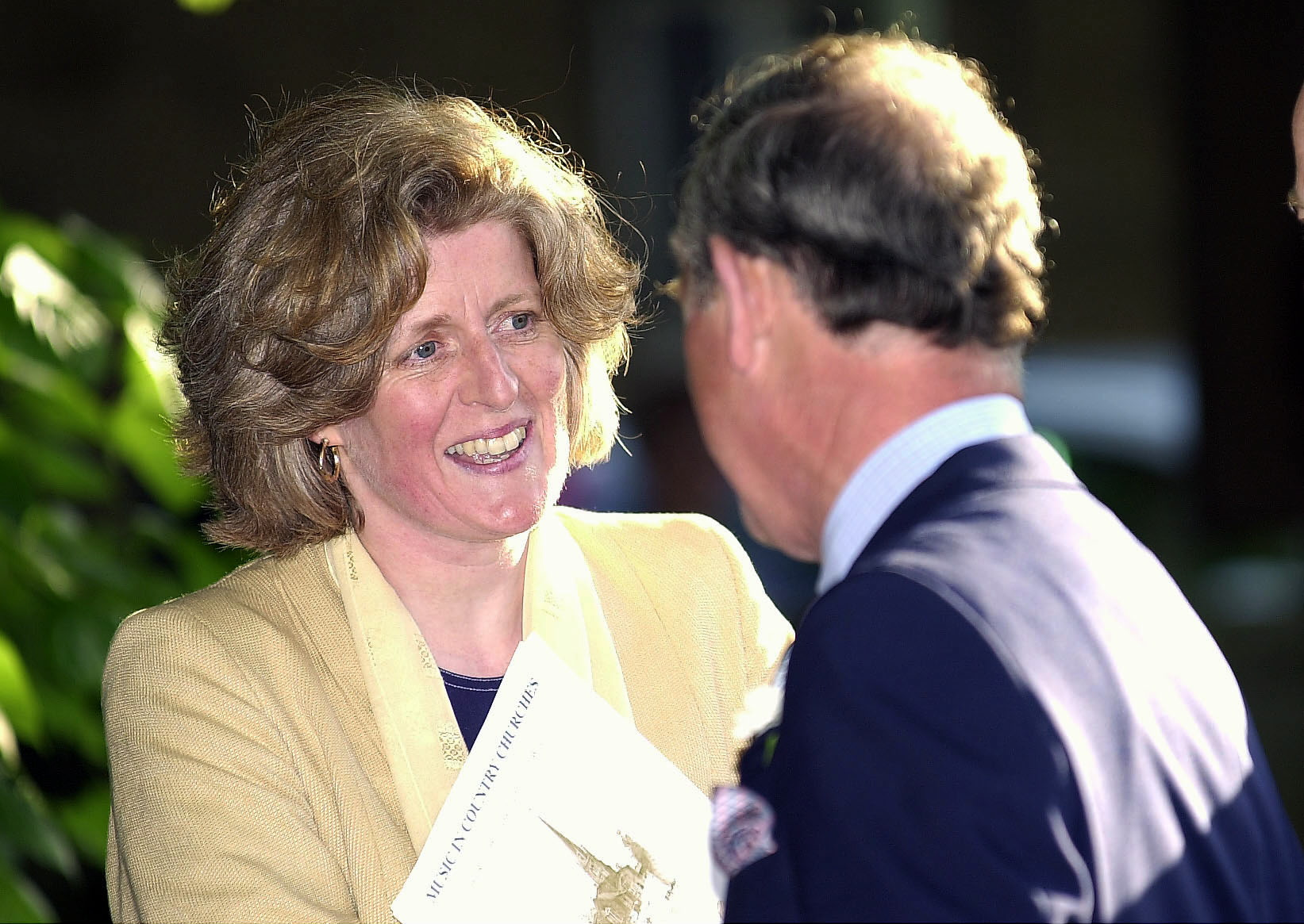 Lady Jane Fellowes with Prince Charles