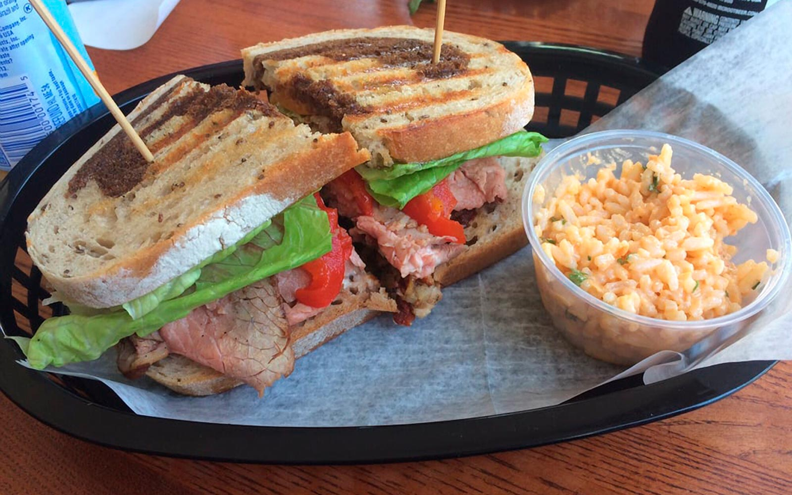 Sandwich at Press On in North Stonington, Connecticut