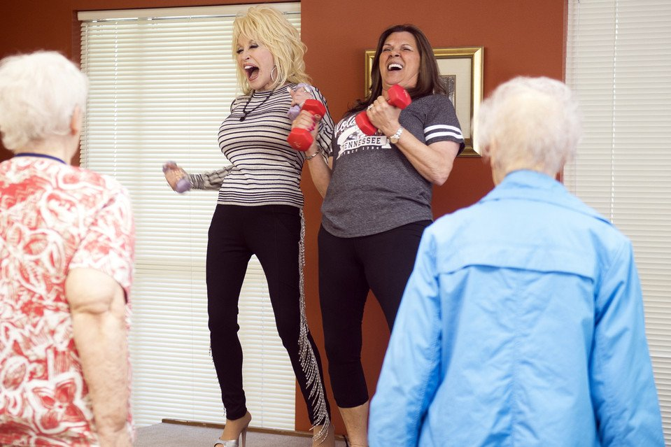 Southern Living Dolly Parton Senior Center Surprise