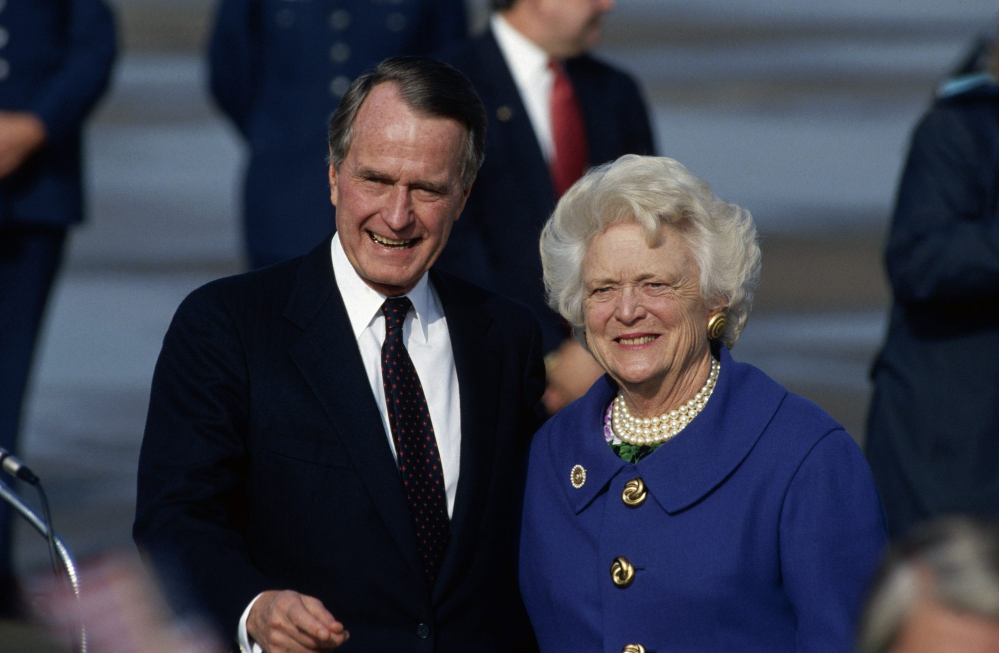 George and Barbara Bush 1992