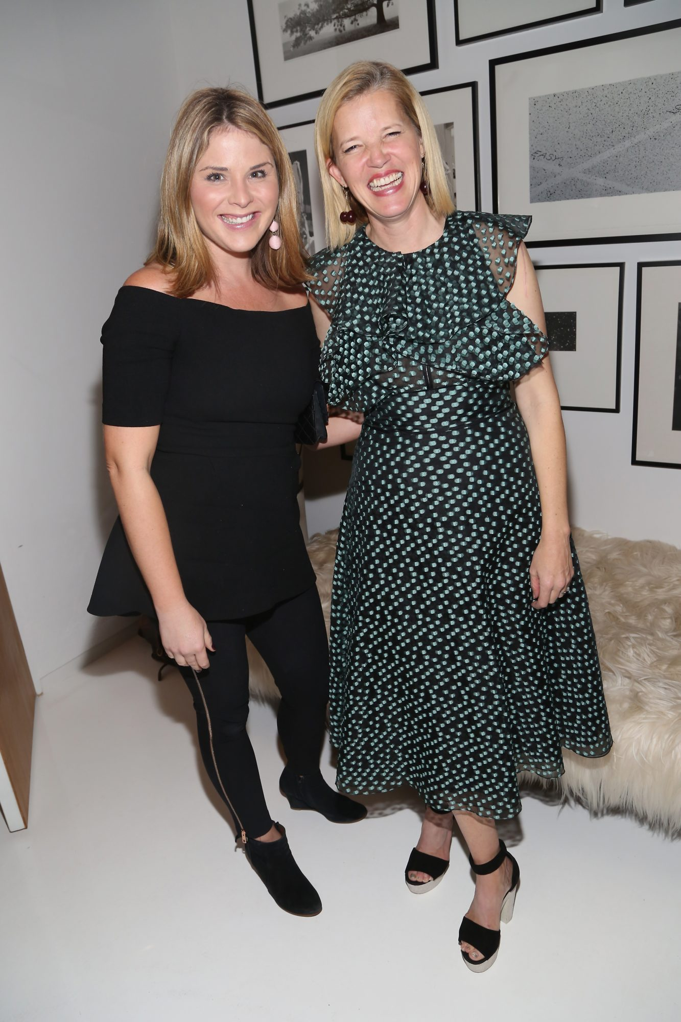 Lela Rose and Jenna Bush Hager