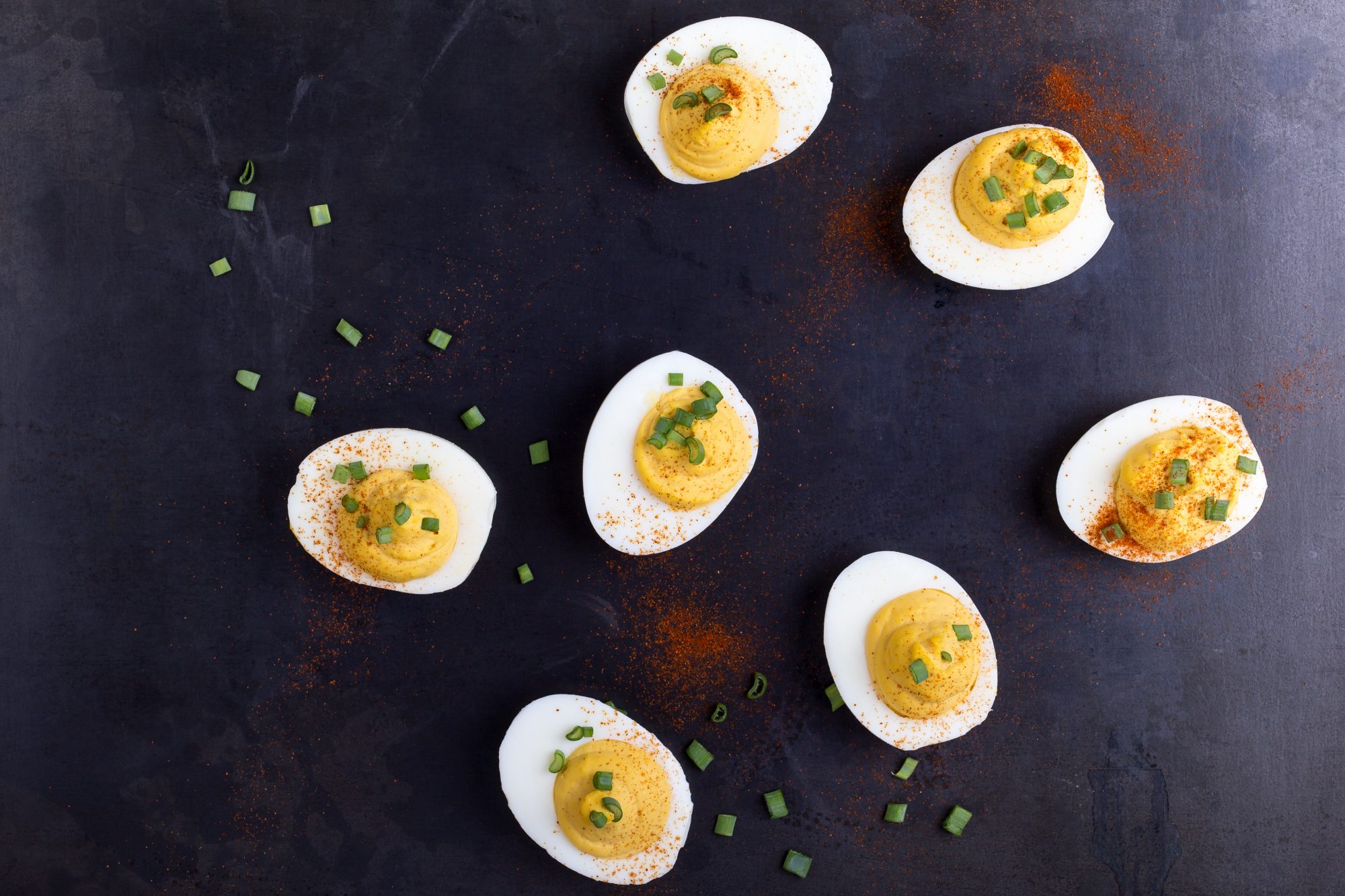 Deviled eggs kentucky derby party