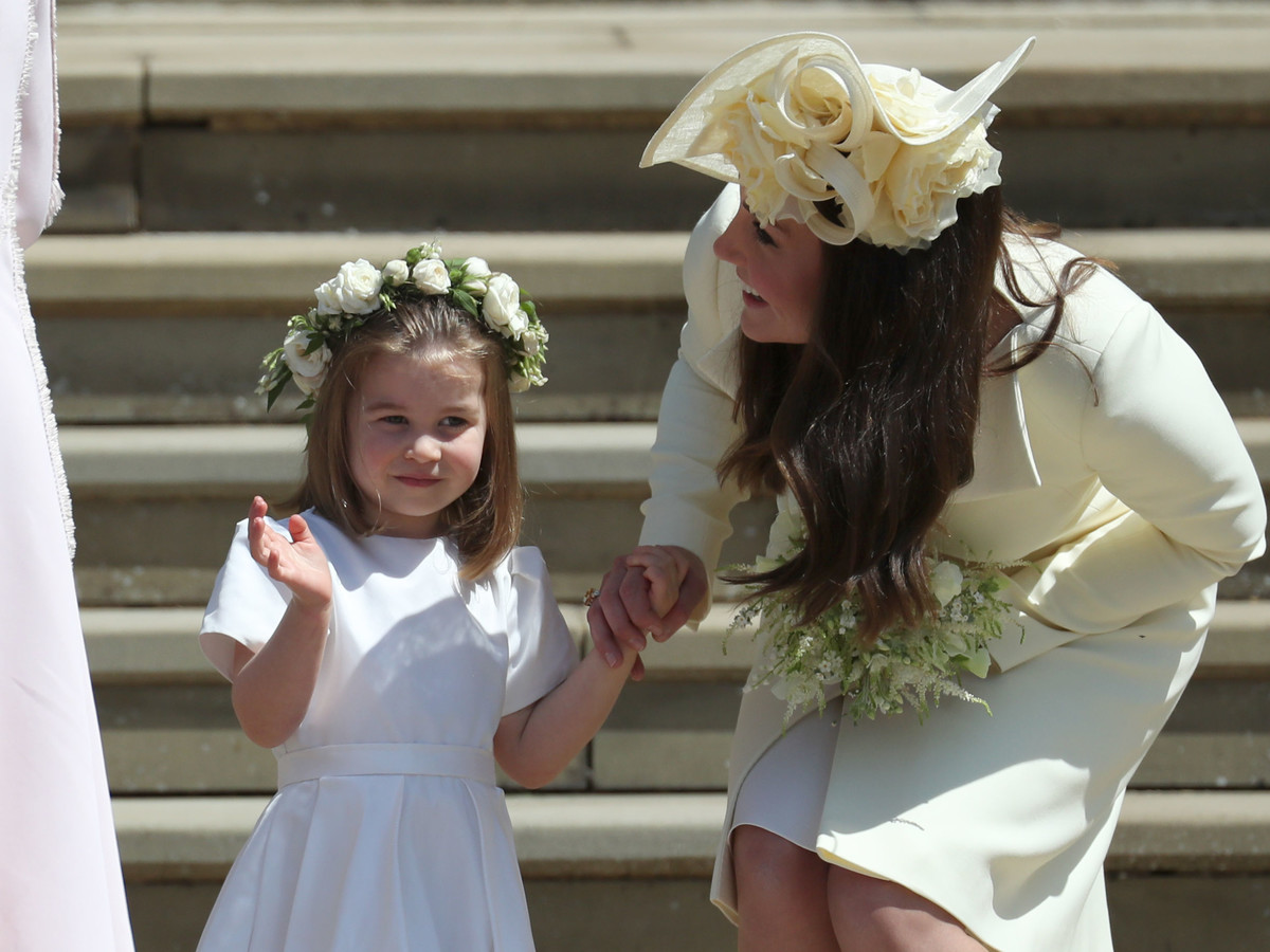 How Princess Charlotte Took Charge of the Other Kids at the Royal Wedding: 'No, You Can't Go Yet!' gettyimages-960071394