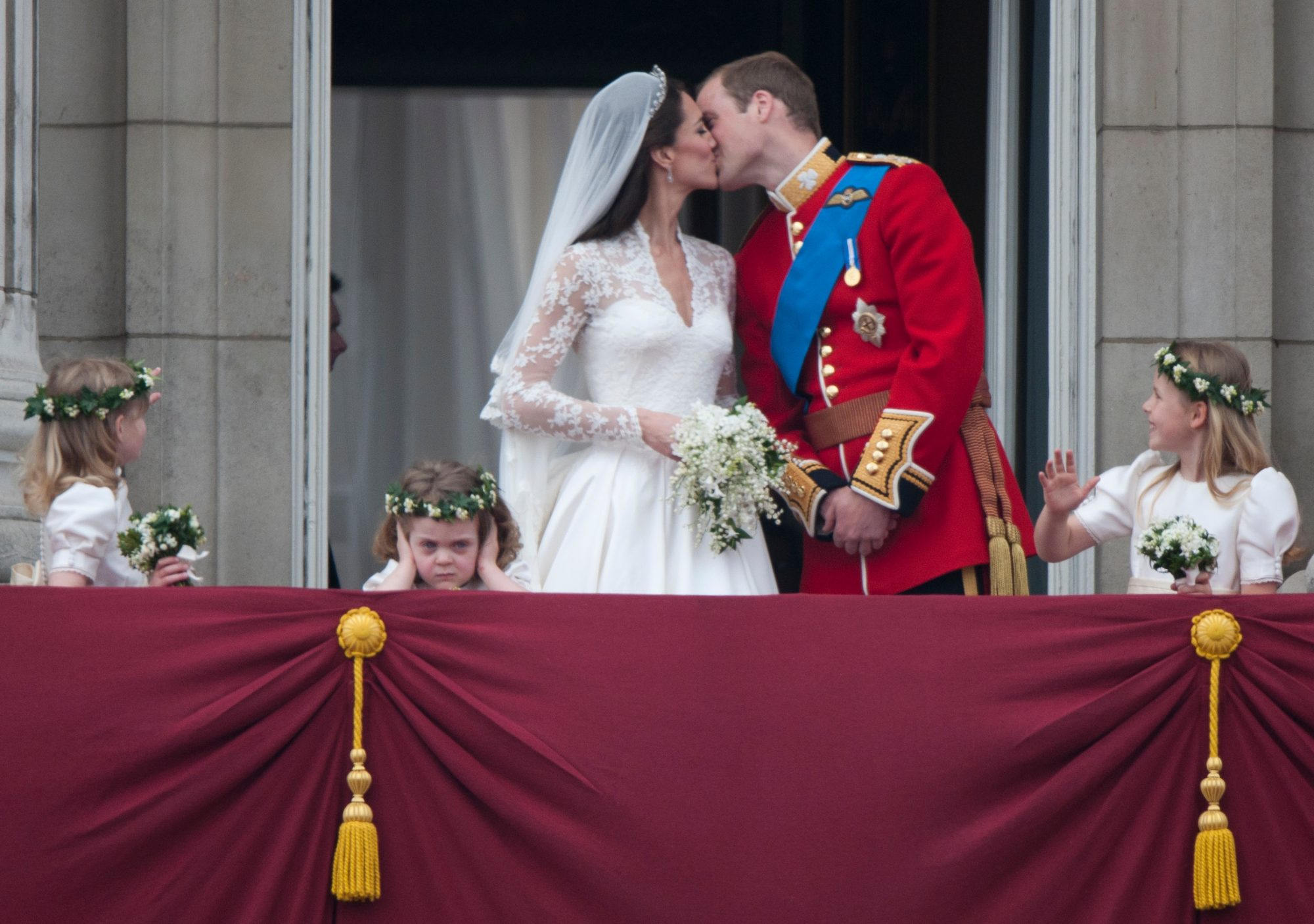Royal Wedding Kiss.Royal Wedding Balcony Kiss Tradition Southern Living