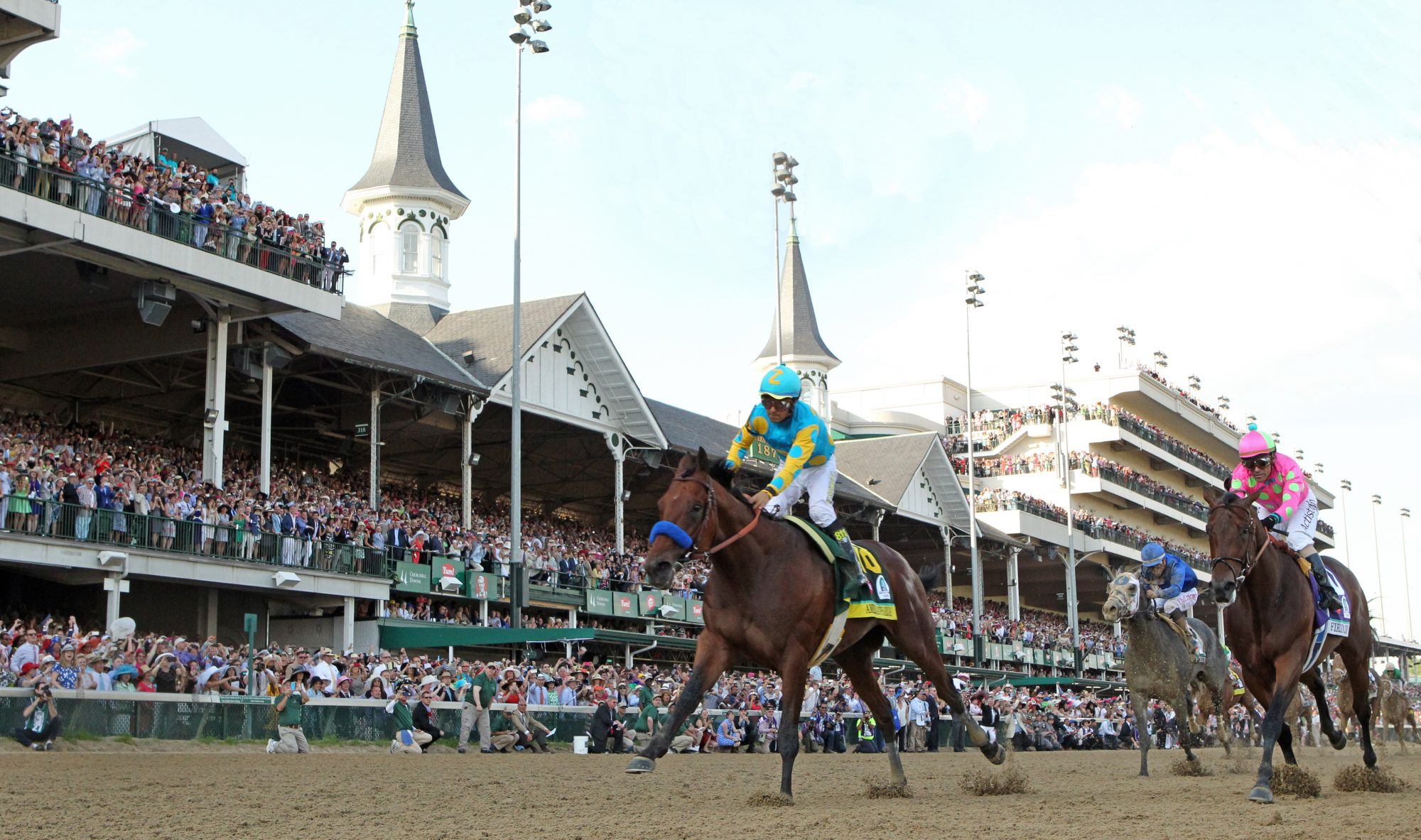 Kentucky Derby winner American Pharoah