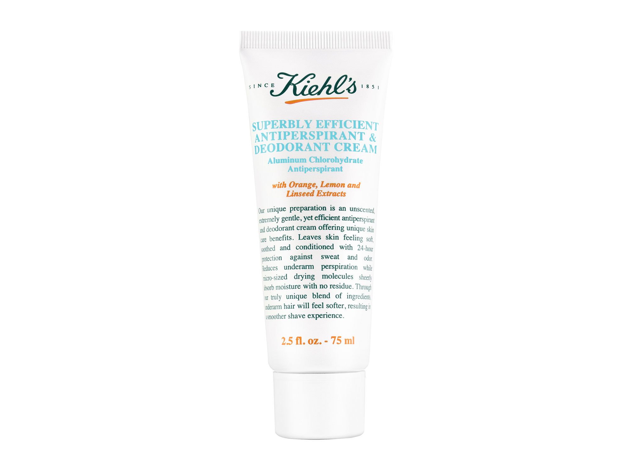 Kiehl's Superbly Efficient Antiperspirant & Deodorant Cream