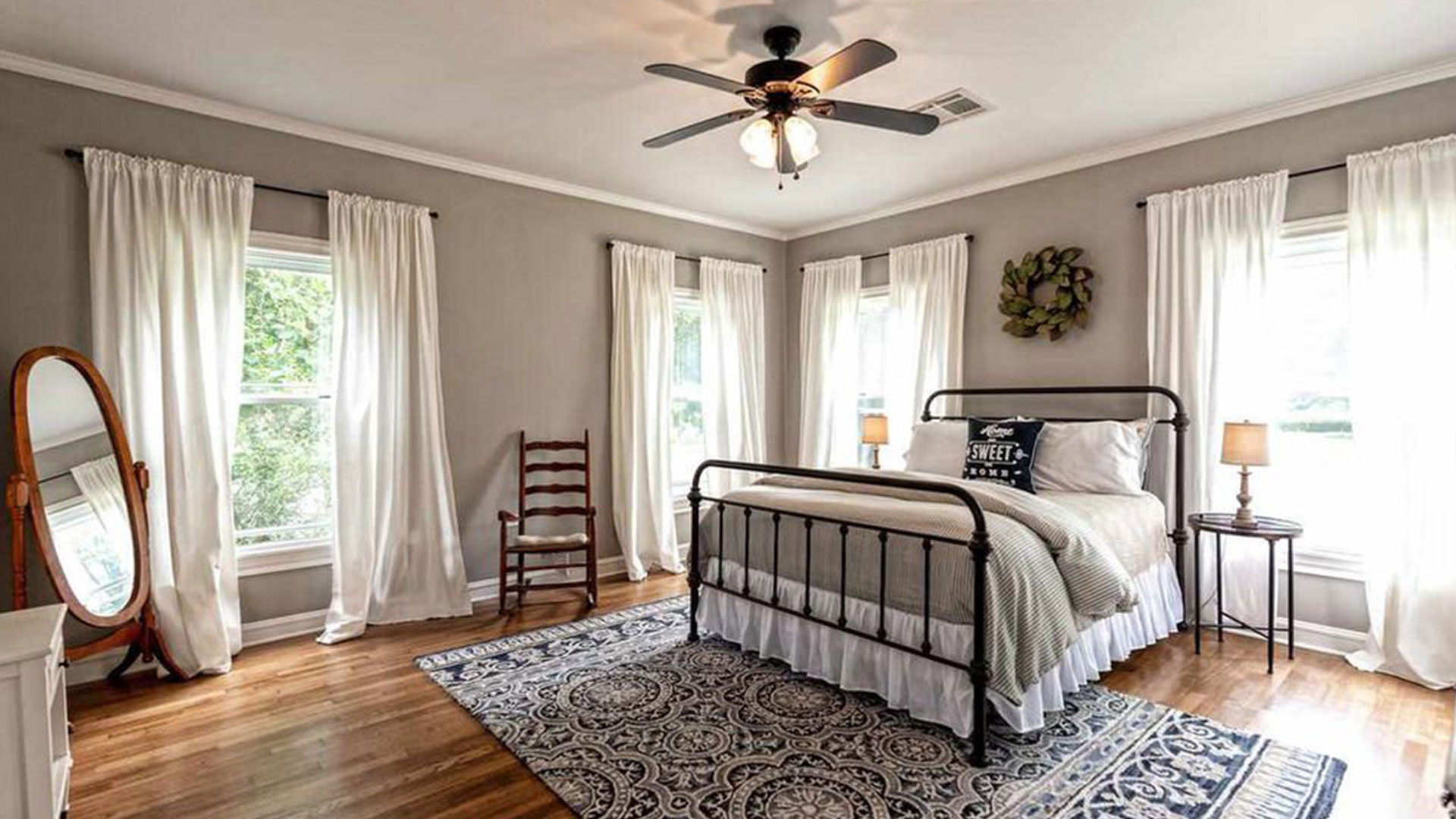 Fixer Upper Dutch Door House_Bedroom