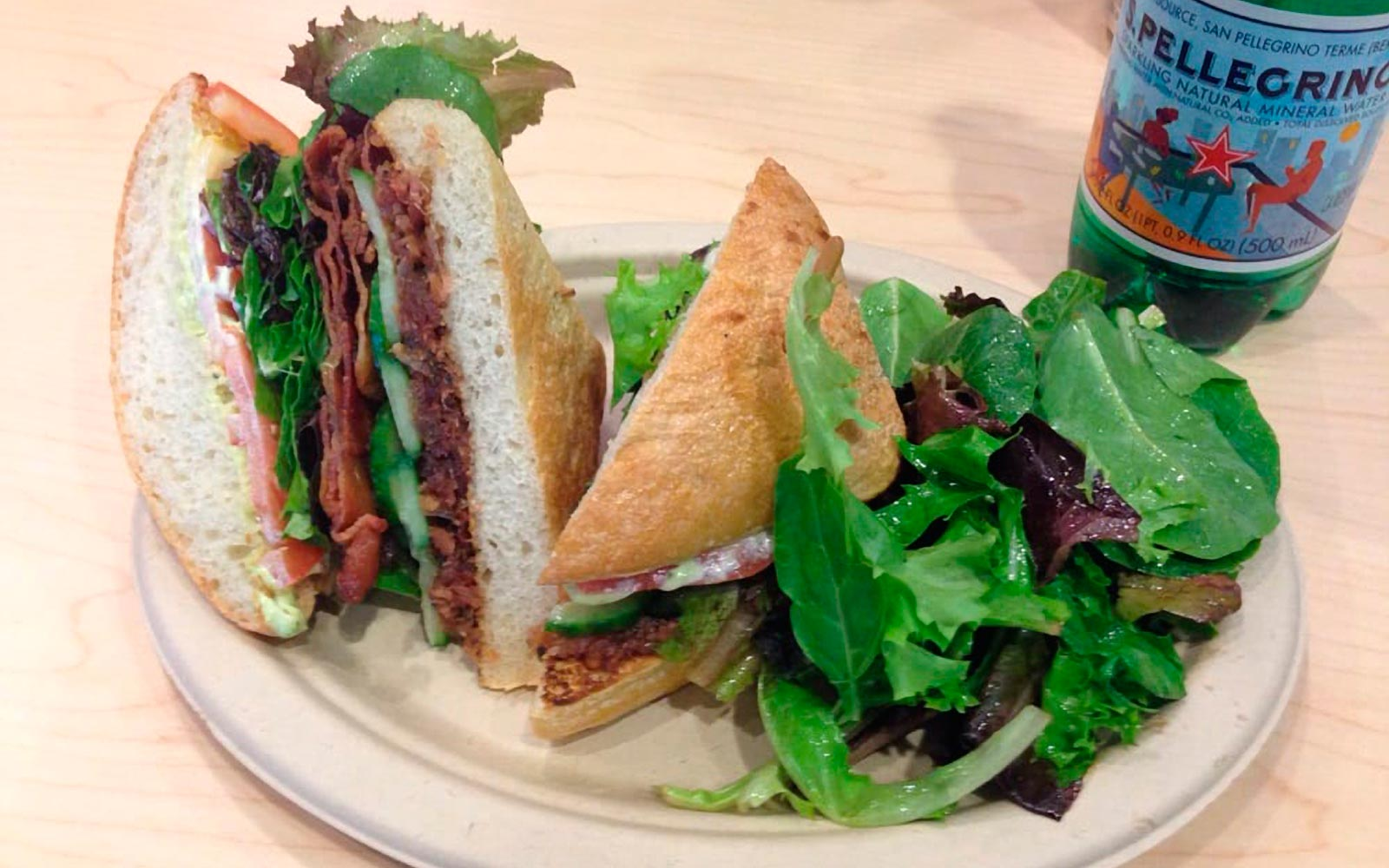 Sandwich at Bronze Cafe in Las Vegas, Nevada