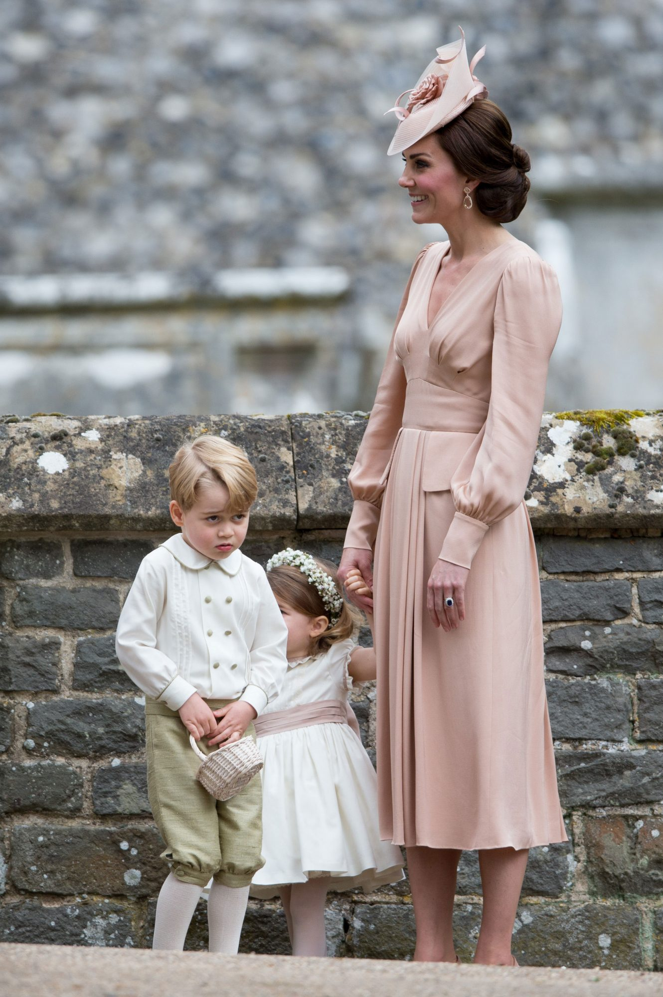 Princess Charlotte Is Ready to Reprise Her Role as a Royal Bridesmaid for Uncle Harry's Wedding prince-george-b