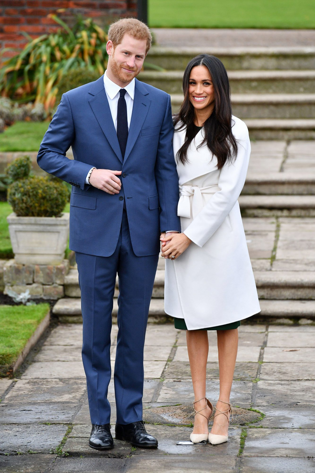 Meghan Markle Is Following the Royal Pantyhose Protocol for the First Time! prince-harry-15