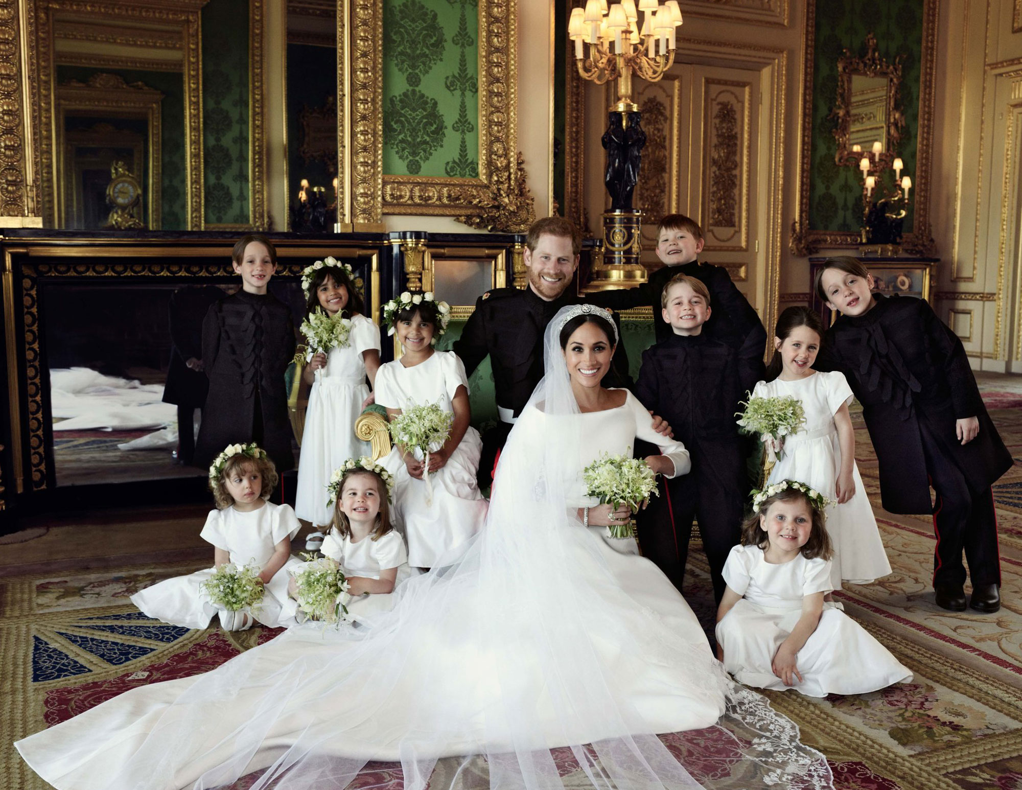 How Princess Charlotte Took Charge of the Other Kids at the Royal Wedding: 'No, You Can't Go Yet!' prince-harry-33