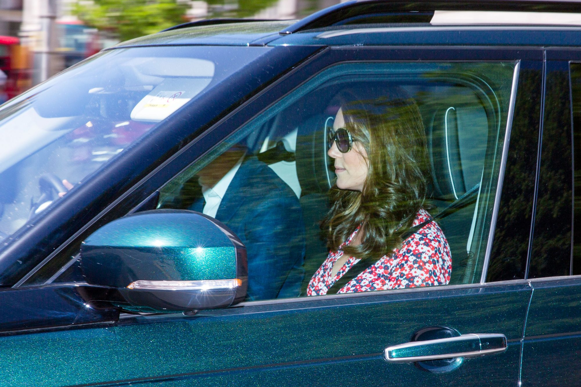 Kate Middleton Is Spotted Out for First Time Since the Birth of Baby Louis princess-kate
