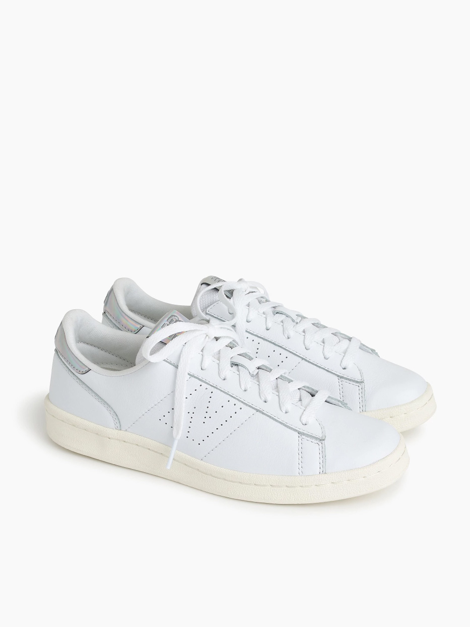 New Balance for J.Crew Leather Court Shoe
