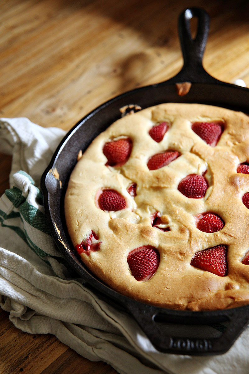 Don't Let Strawberry Season Pass You By Without Making this Cake